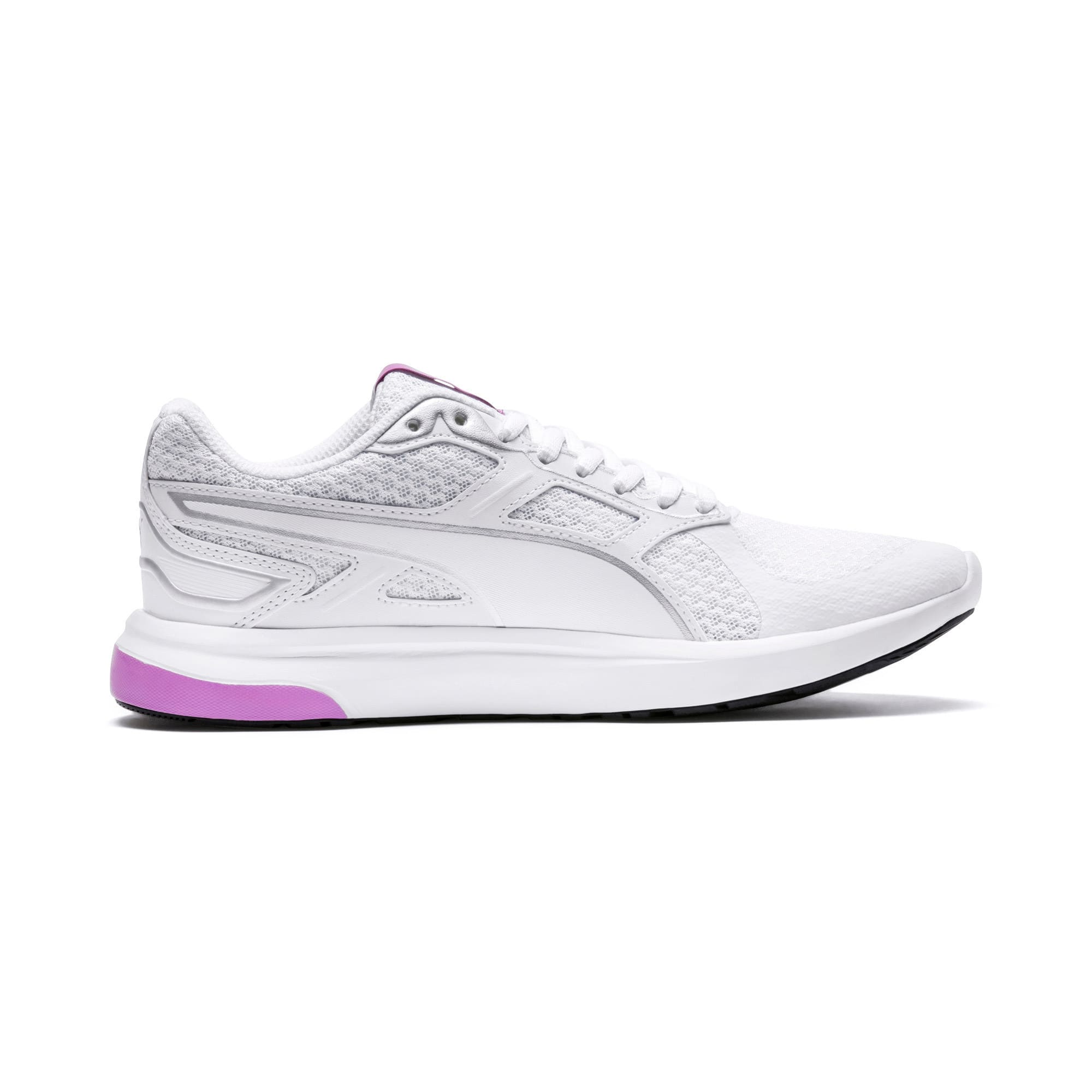 Thumbnail 5 of Escaper Tech Sneakers, Puma White-Puma White-Orchid, medium-IND