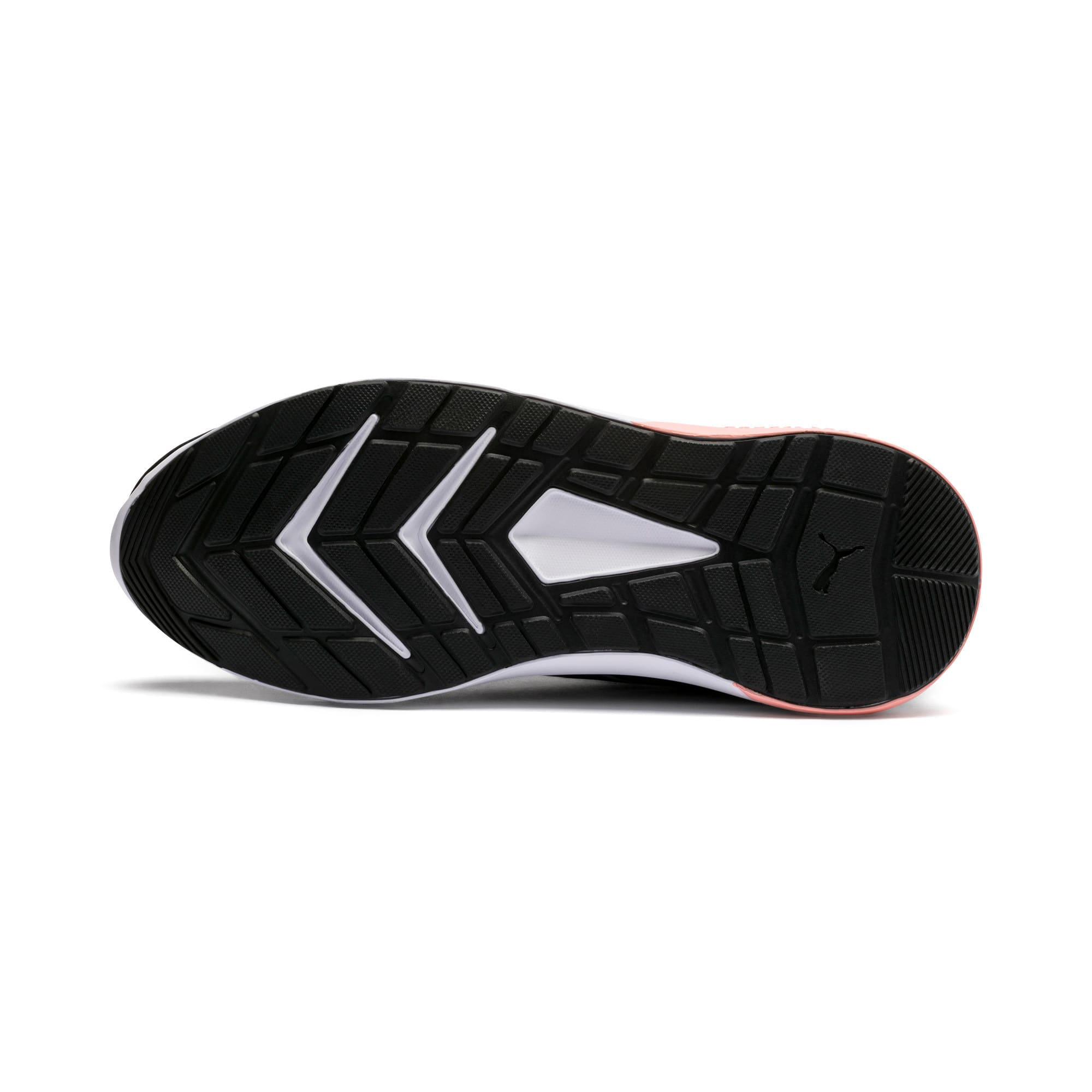 Thumbnail 4 of Escaper Tech Sneakers, Black-Silver-White-Peach Bud, medium-IND