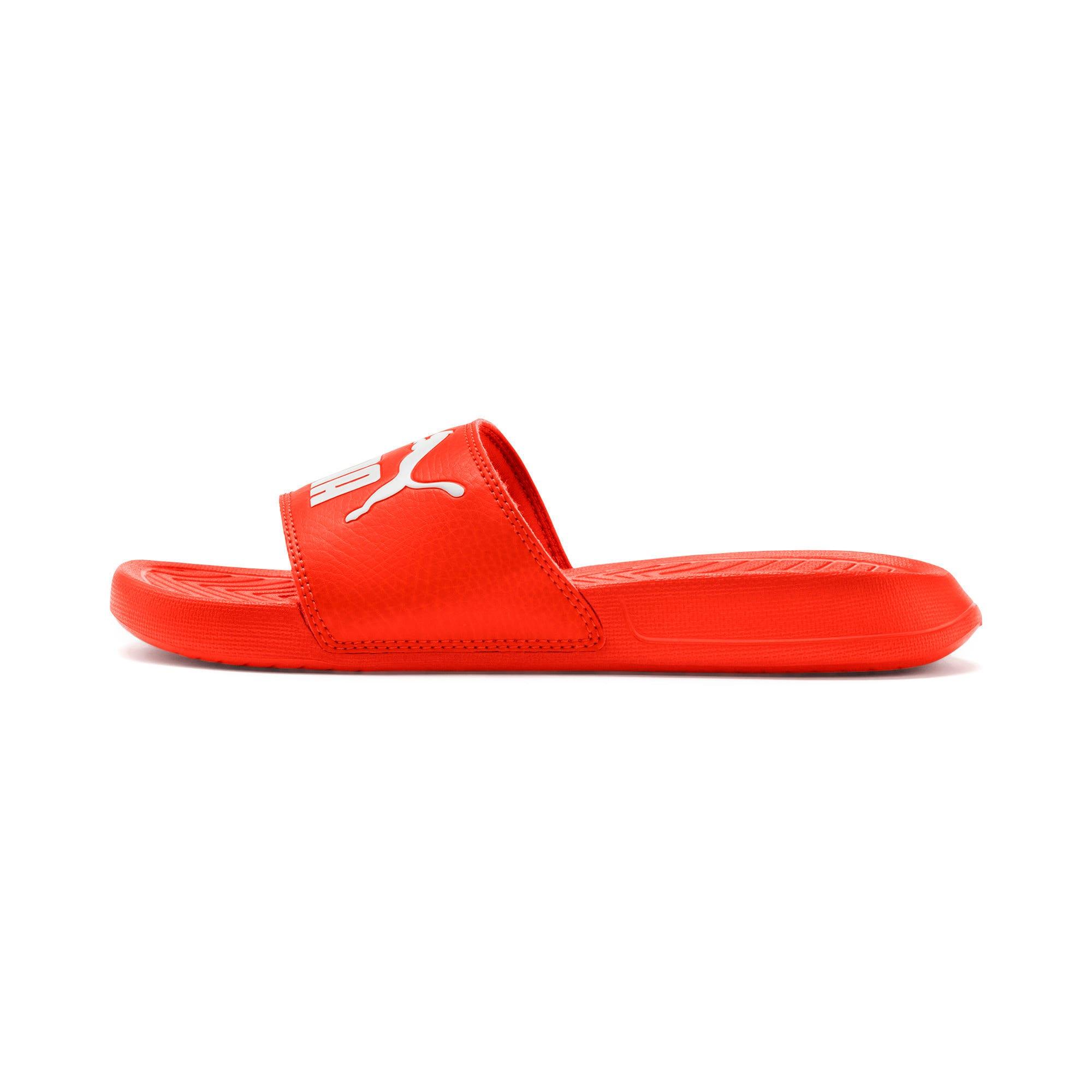 Thumbnail 1 of Popcat Youth Sandal, Cherry Tomato-Puma White, medium-IND