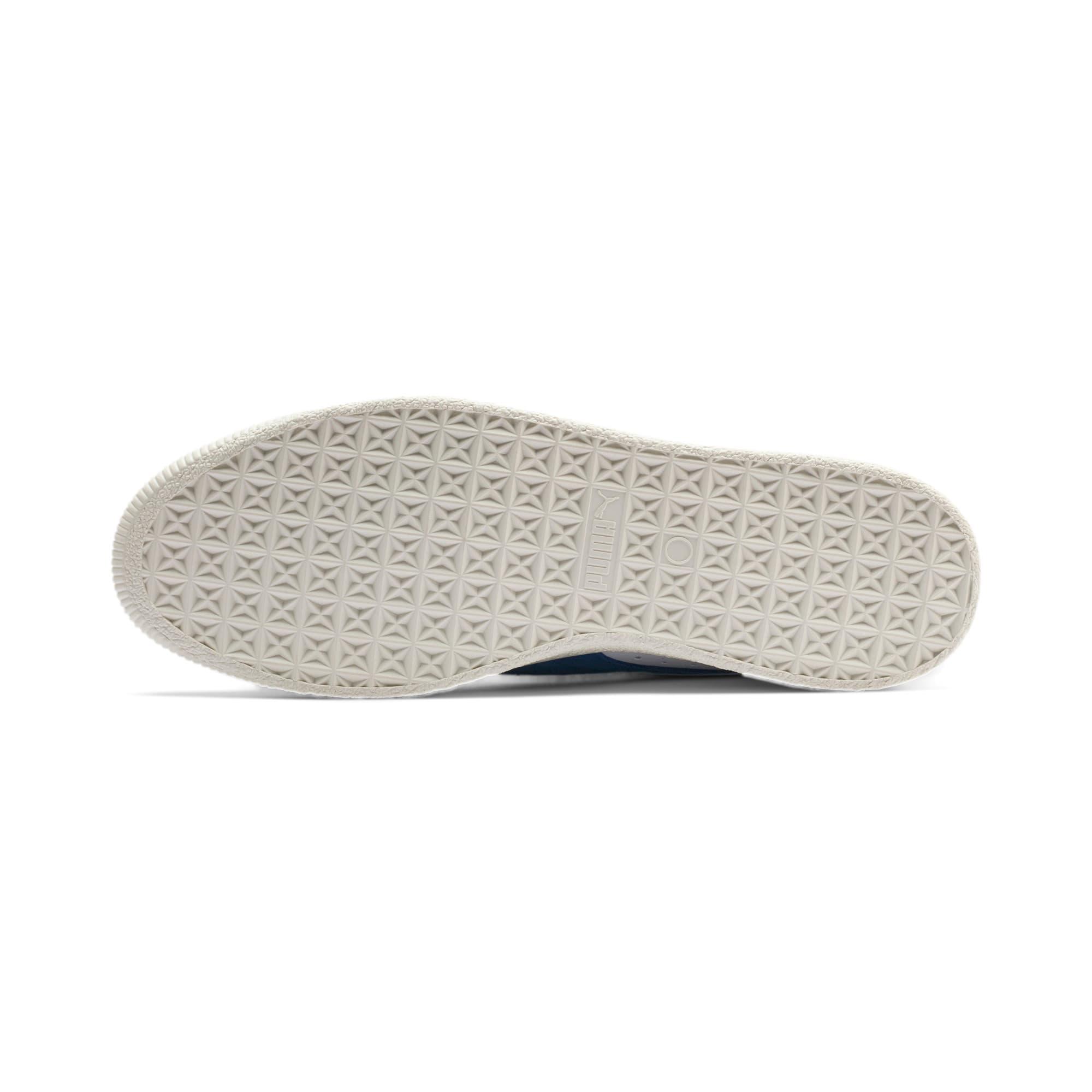 Thumbnail 5 of Basket 90680 Sneakers, Puma White-Galaxy Blue-Whisp, medium