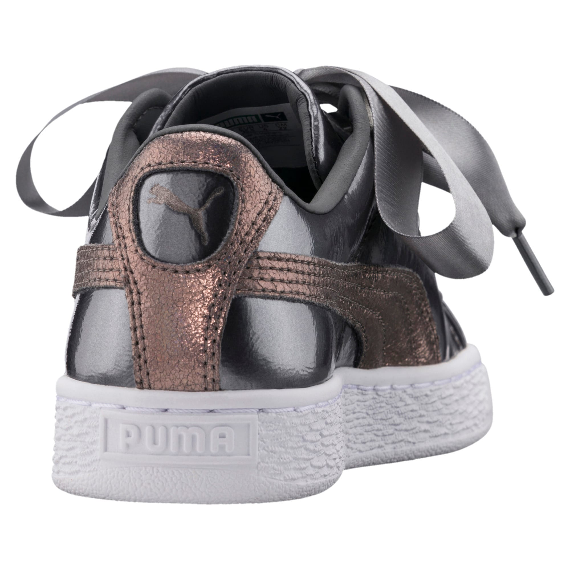 Thumbnail 3 of Basket Heart Lunar Lux Jr Trainers, Smoked Pearl, medium-IND