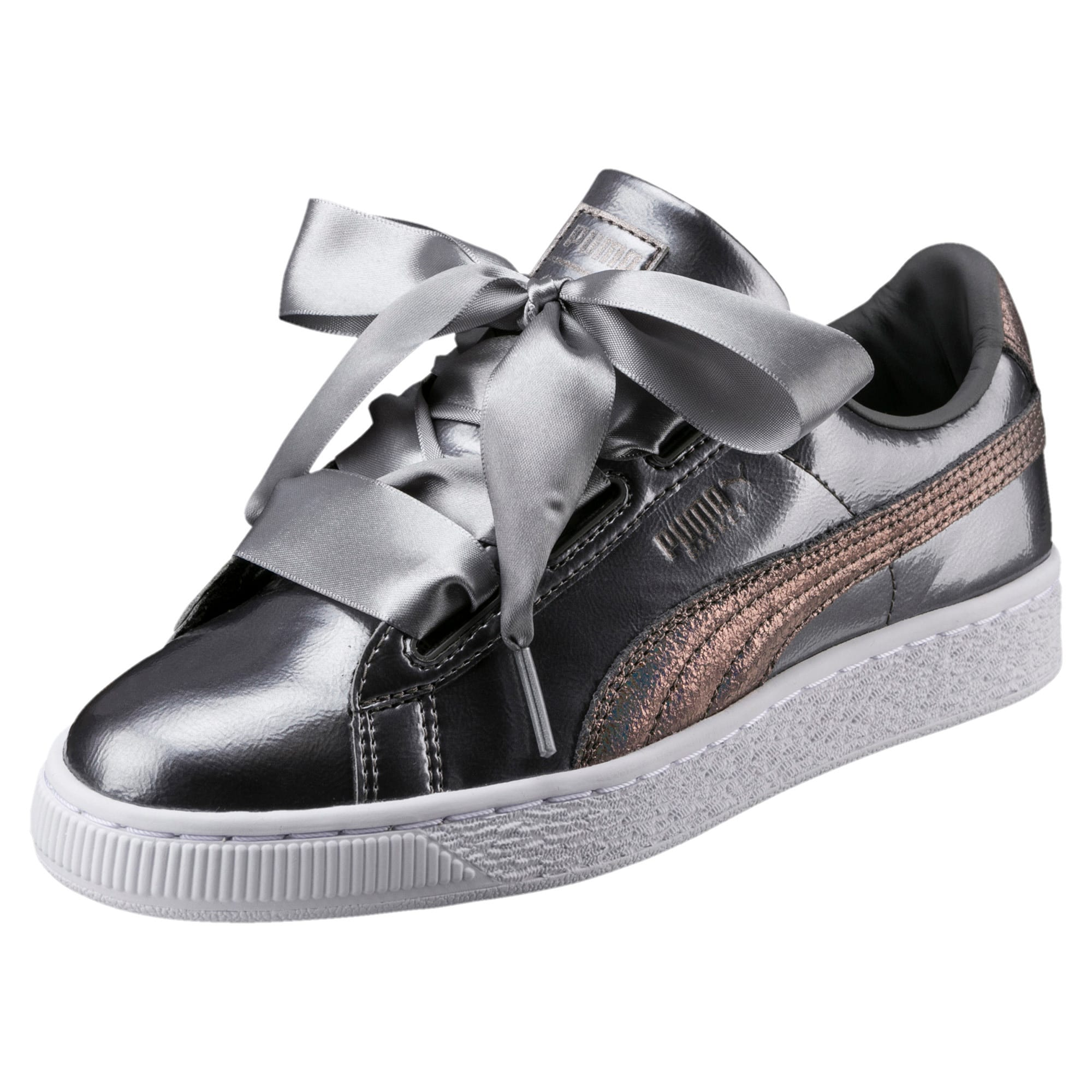Thumbnail 1 of Basket Heart Lunar Lux Jr Trainers, Smoked Pearl, medium-IND