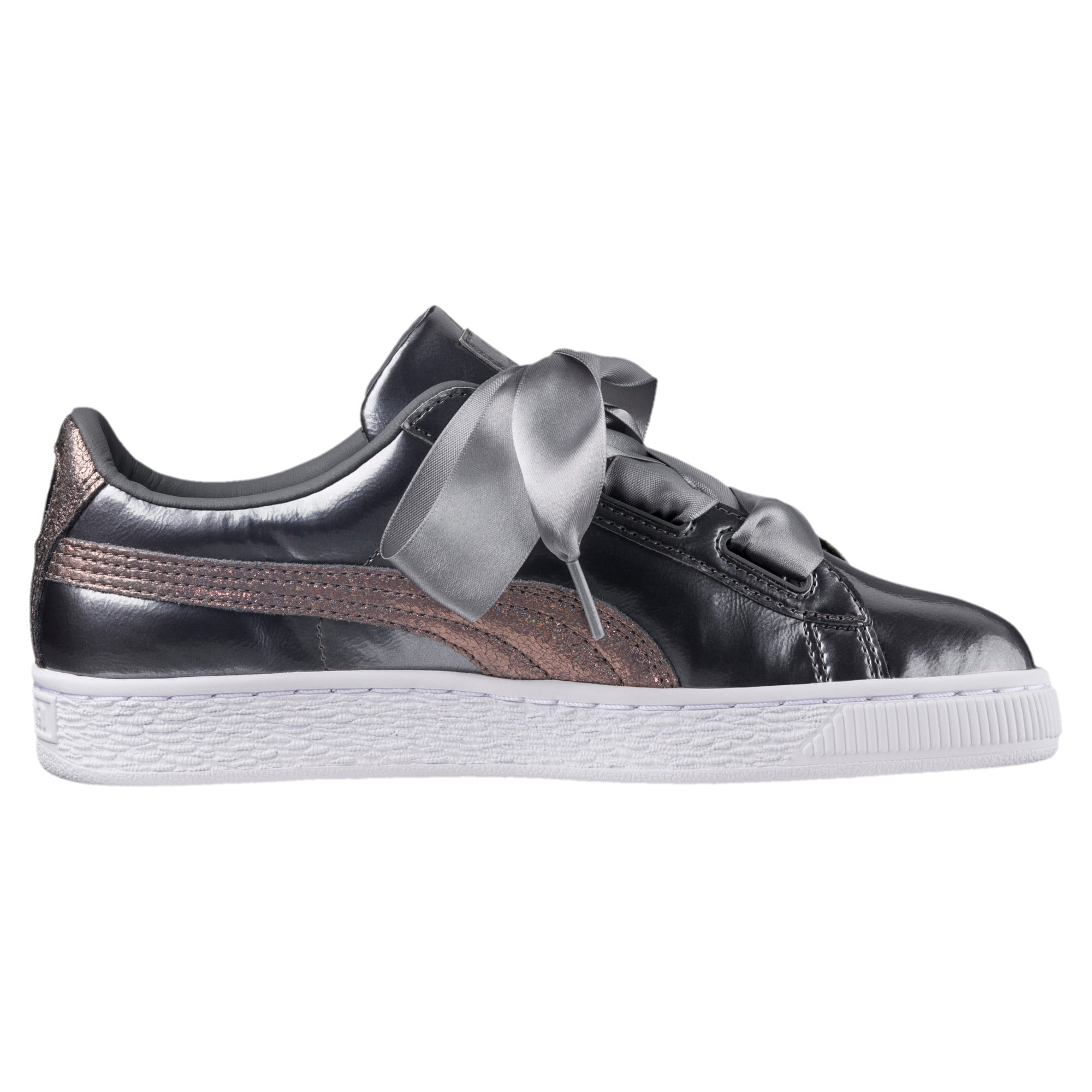 Thumbnail 4 of Basket Heart Lunar Lux Jr Trainers, Smoked Pearl, medium-IND