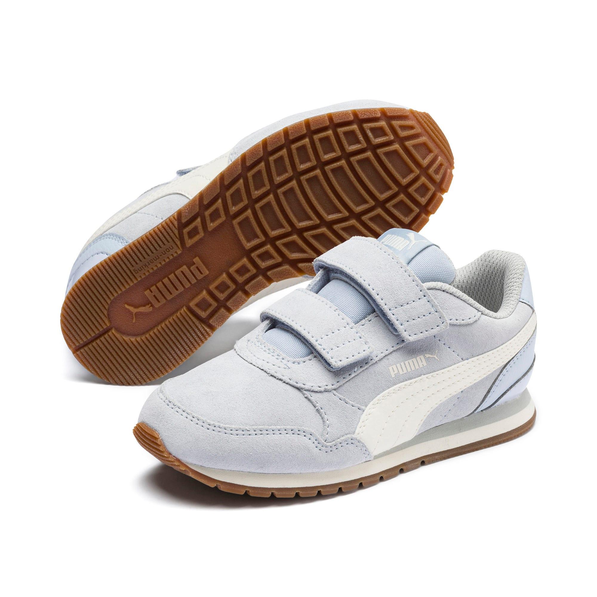 Thumbnail 2 of ST Runner v2 SD V Little Kids' Shoes, Heather-Whisper White, medium