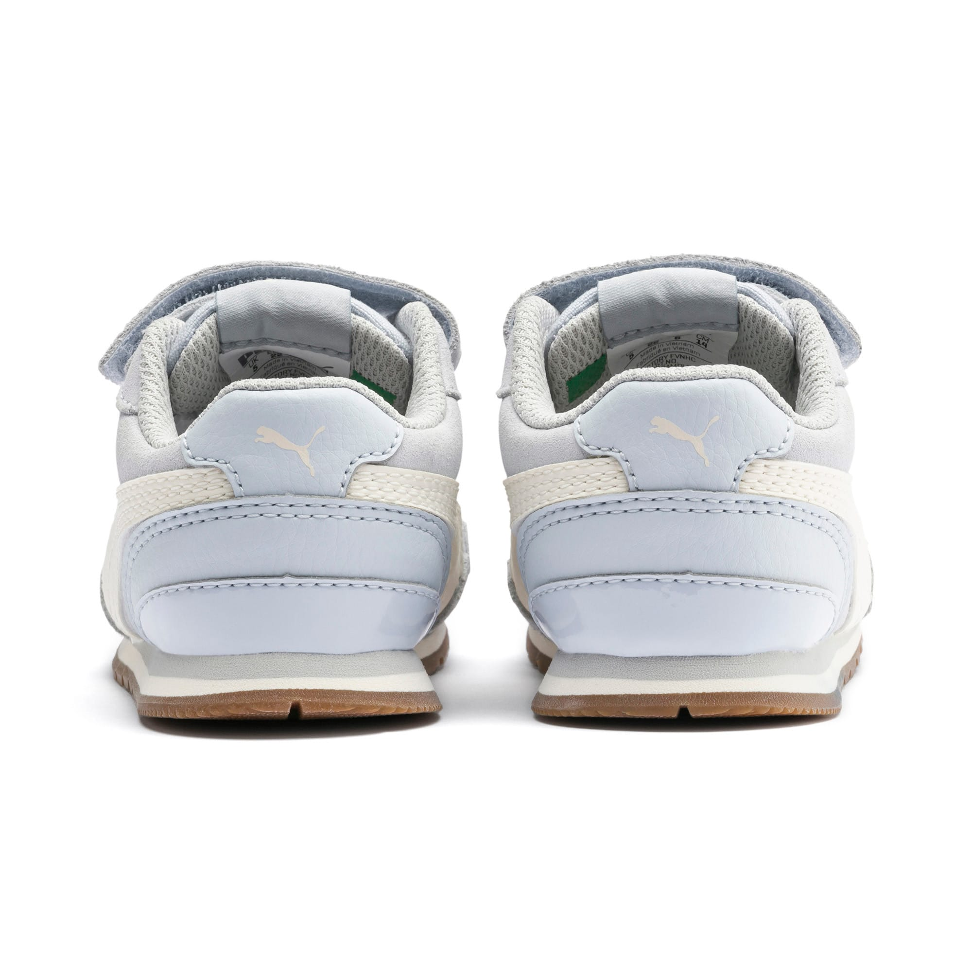 Miniatura 3 de Zapatos ST Runner v2 Suede para bebé, Heather-Whisper White, mediano
