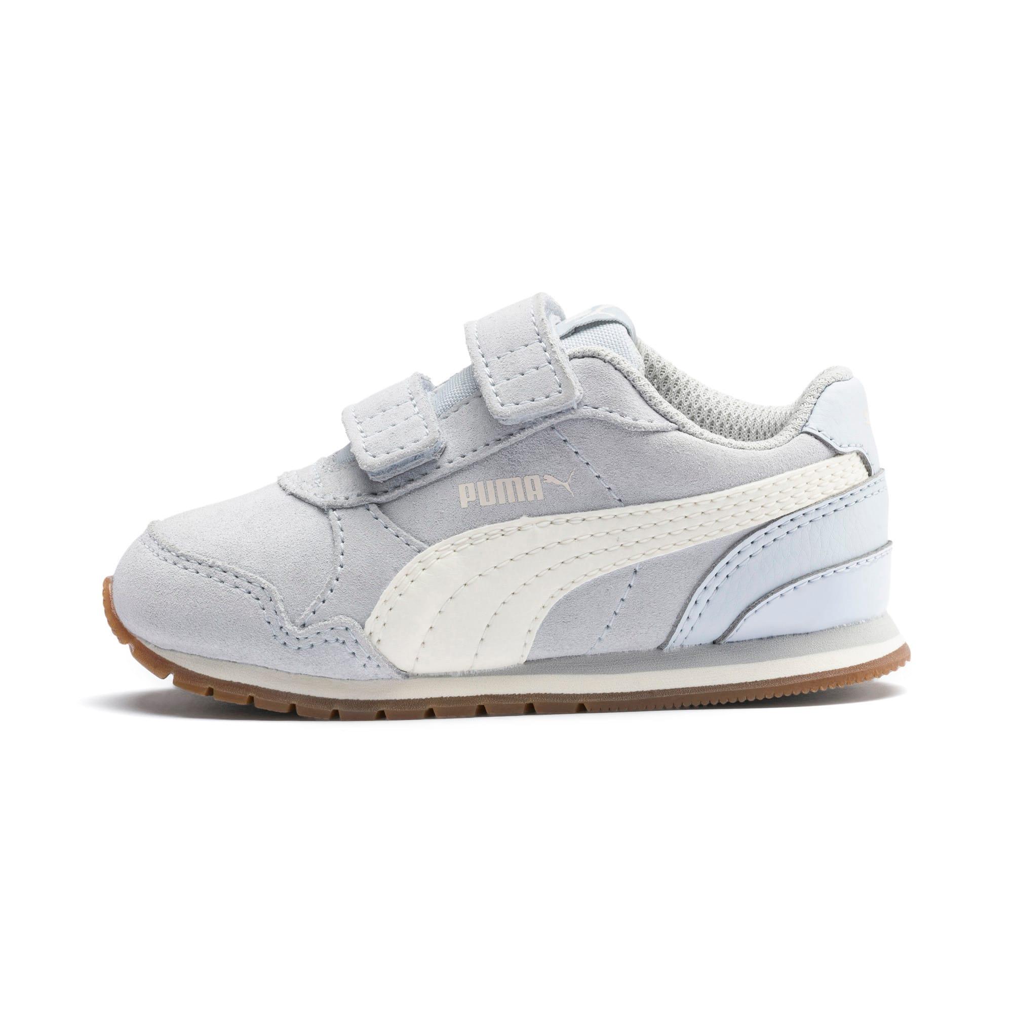 Miniatura 1 de Zapatos ST Runner v2 Suede para bebé, Heather-Whisper White, mediano