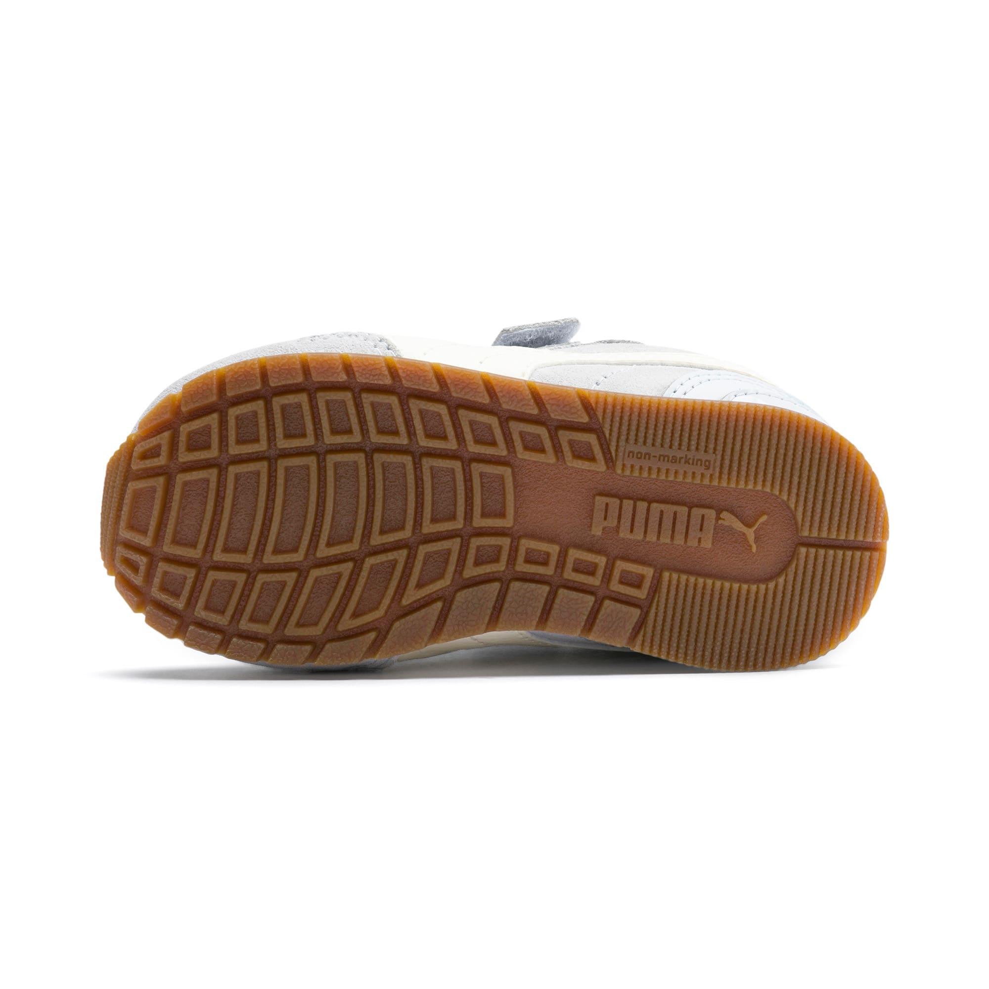 Miniatura 4 de Zapatos ST Runner v2 Suede para bebé, Heather-Whisper White, mediano