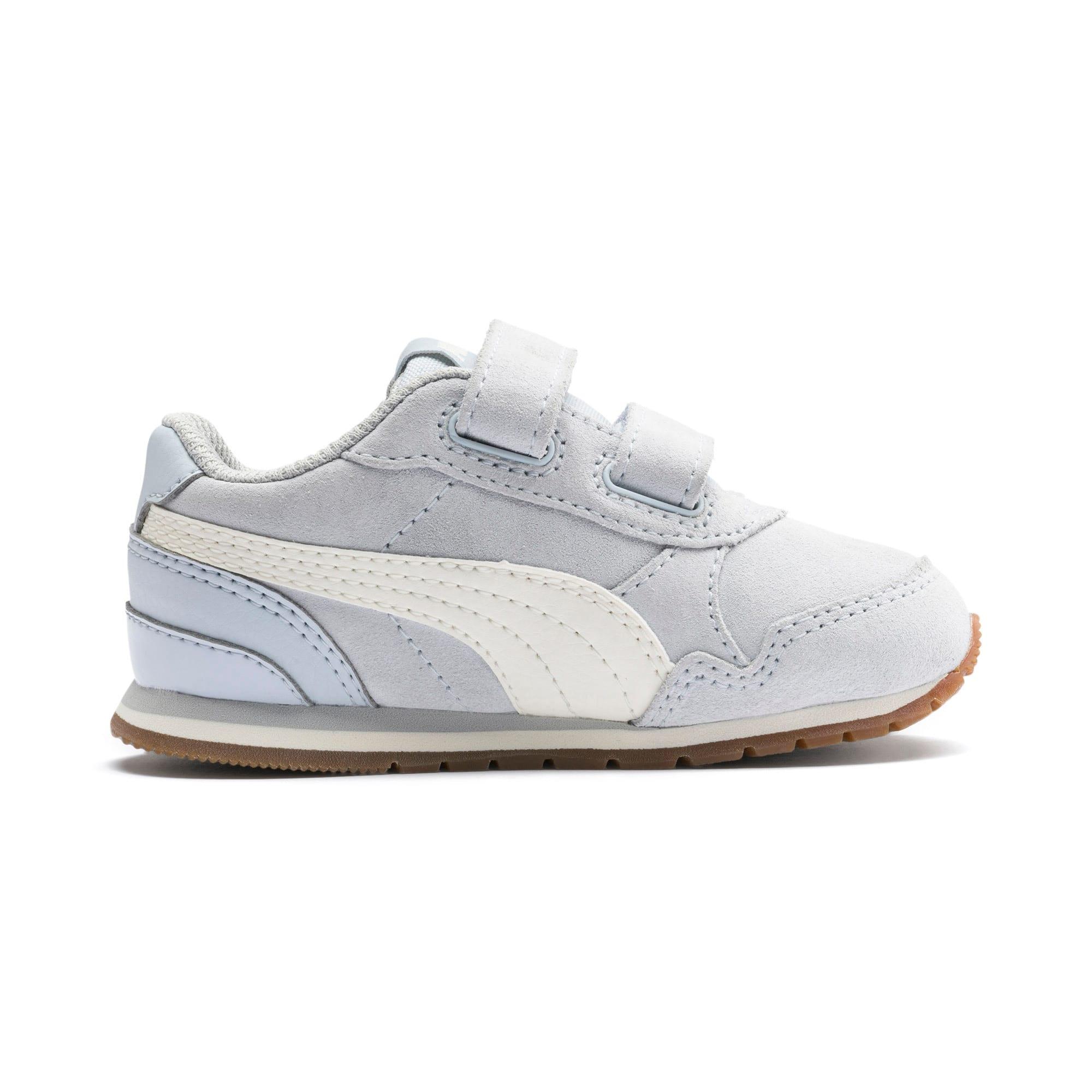 Miniatura 5 de Zapatos ST Runner v2 Suede para bebé, Heather-Whisper White, mediano