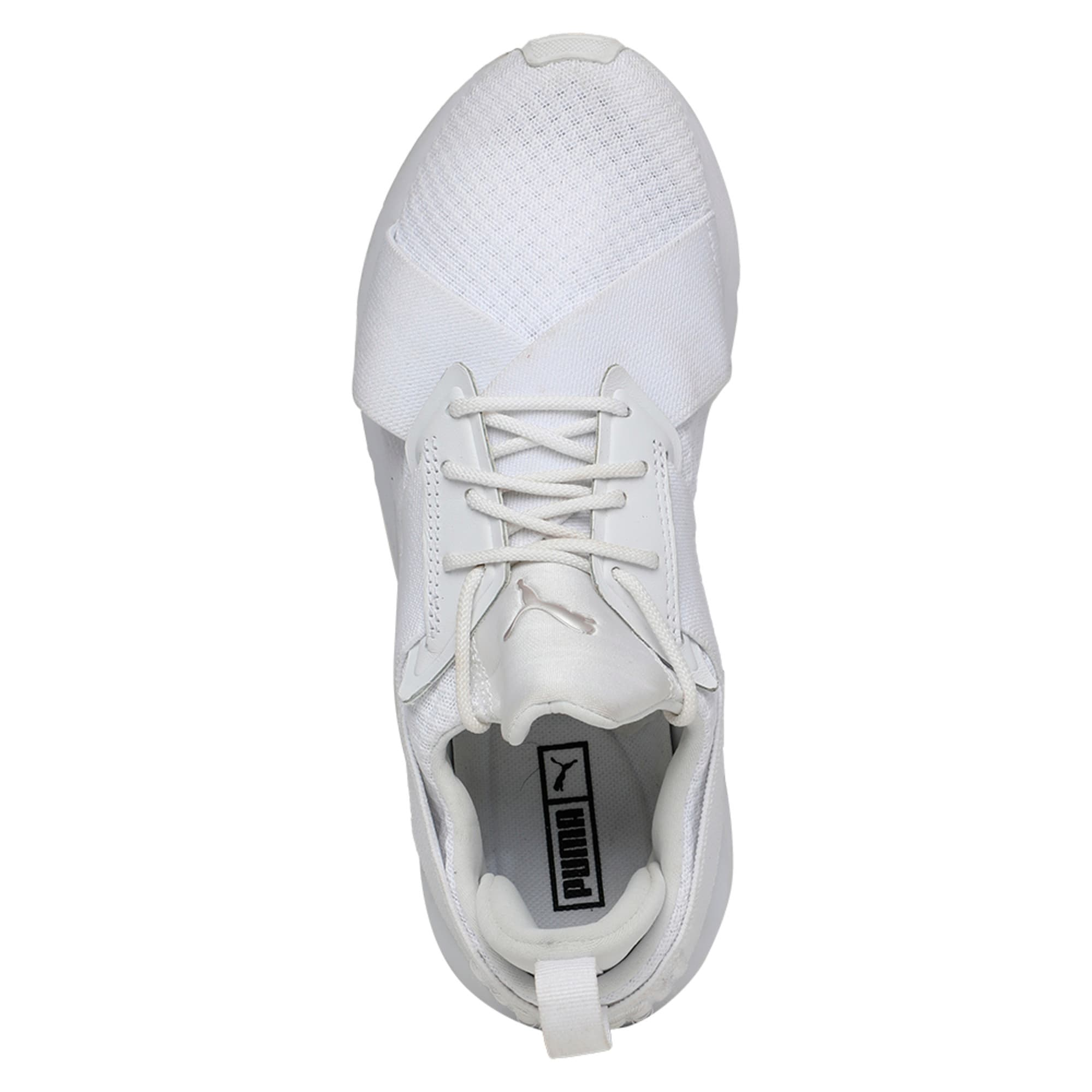 Thumbnail 4 of Muse En Pointe Women's Shoes, Puma White-Puma White, medium-IND
