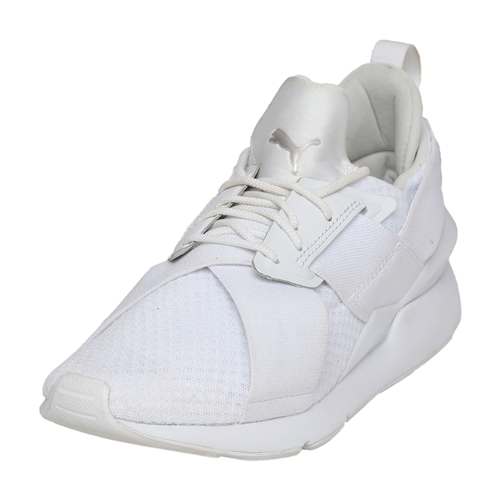 Thumbnail 1 of Muse En Pointe Women's Shoes, Puma White-Puma White, medium-IND