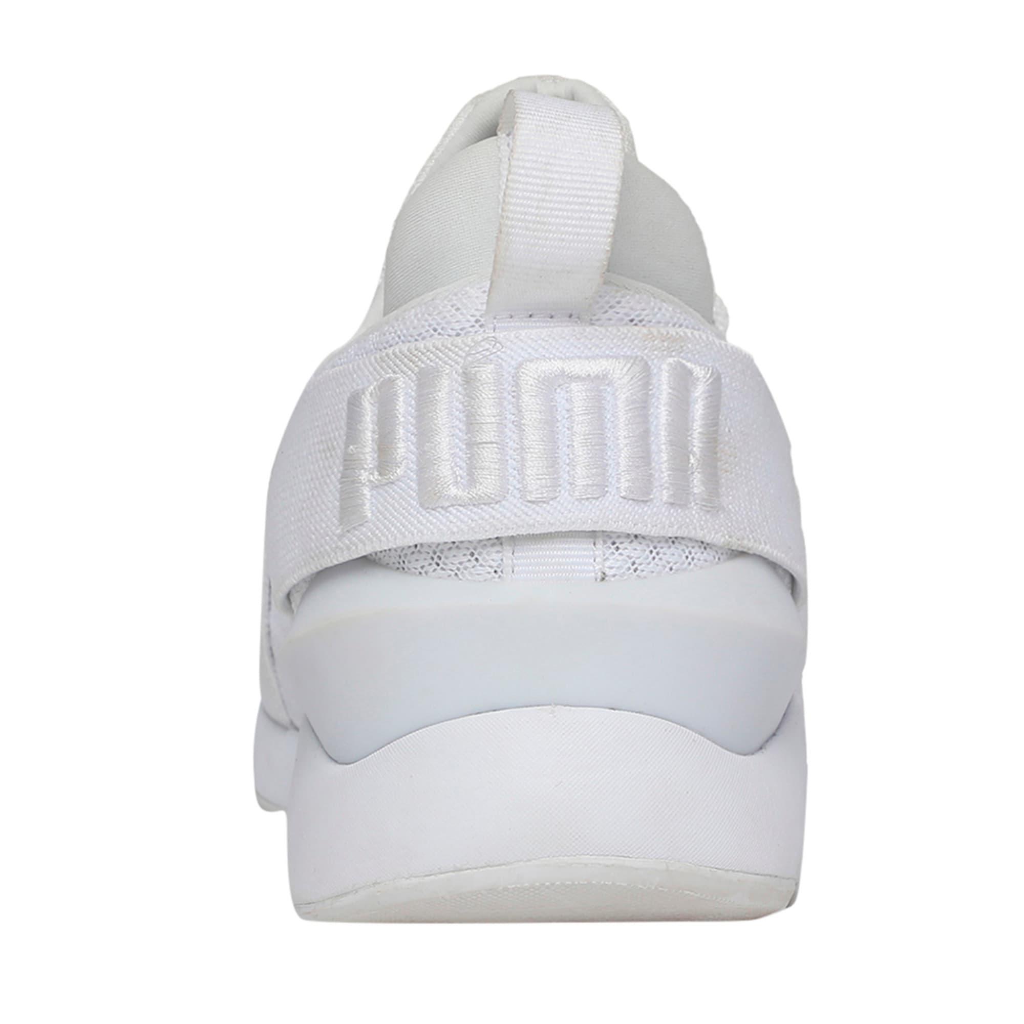 Thumbnail 3 of Muse En Pointe Women's Shoes, Puma White-Puma White, medium-IND