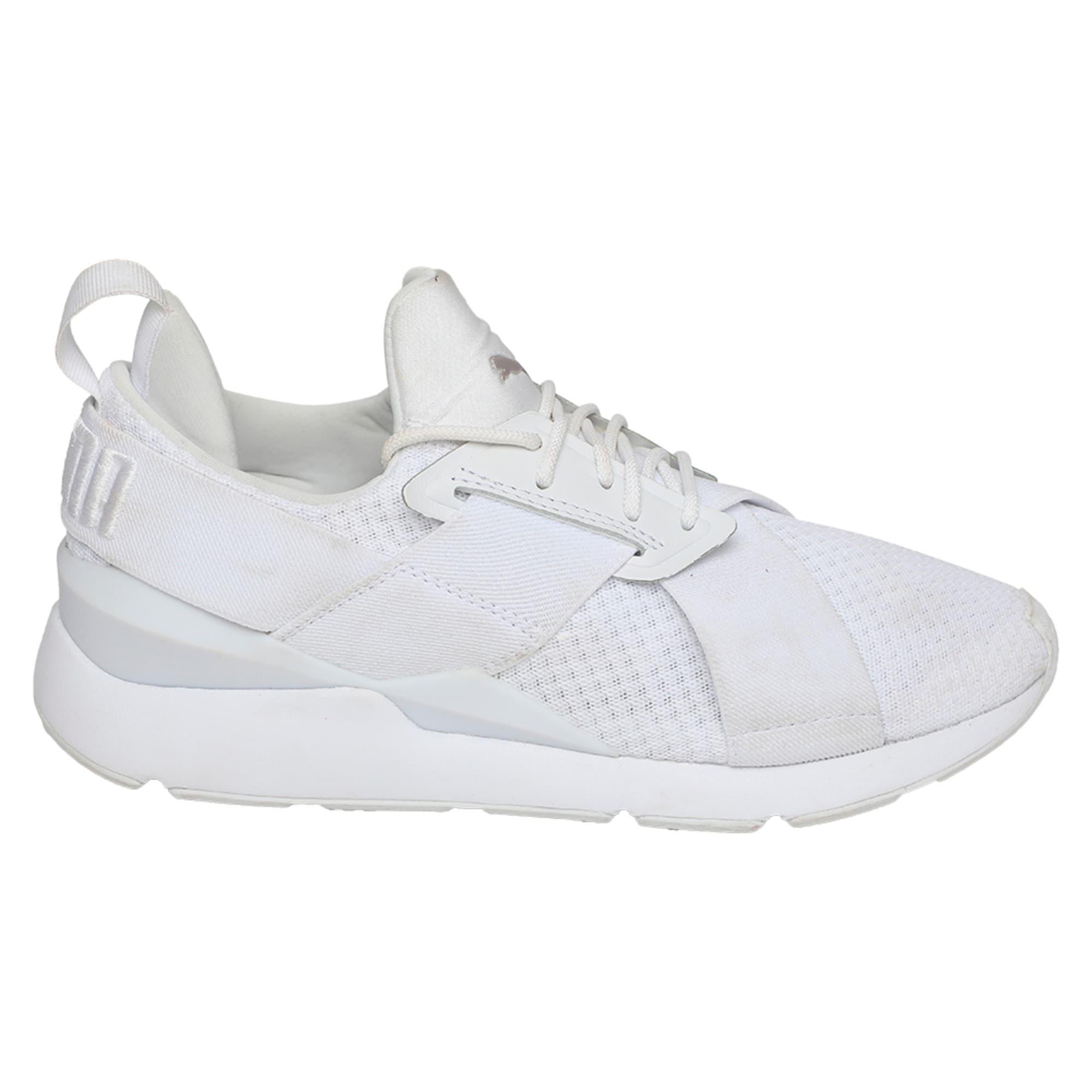 Thumbnail 5 of Muse En Pointe Women's Shoes, Puma White-Puma White, medium-IND