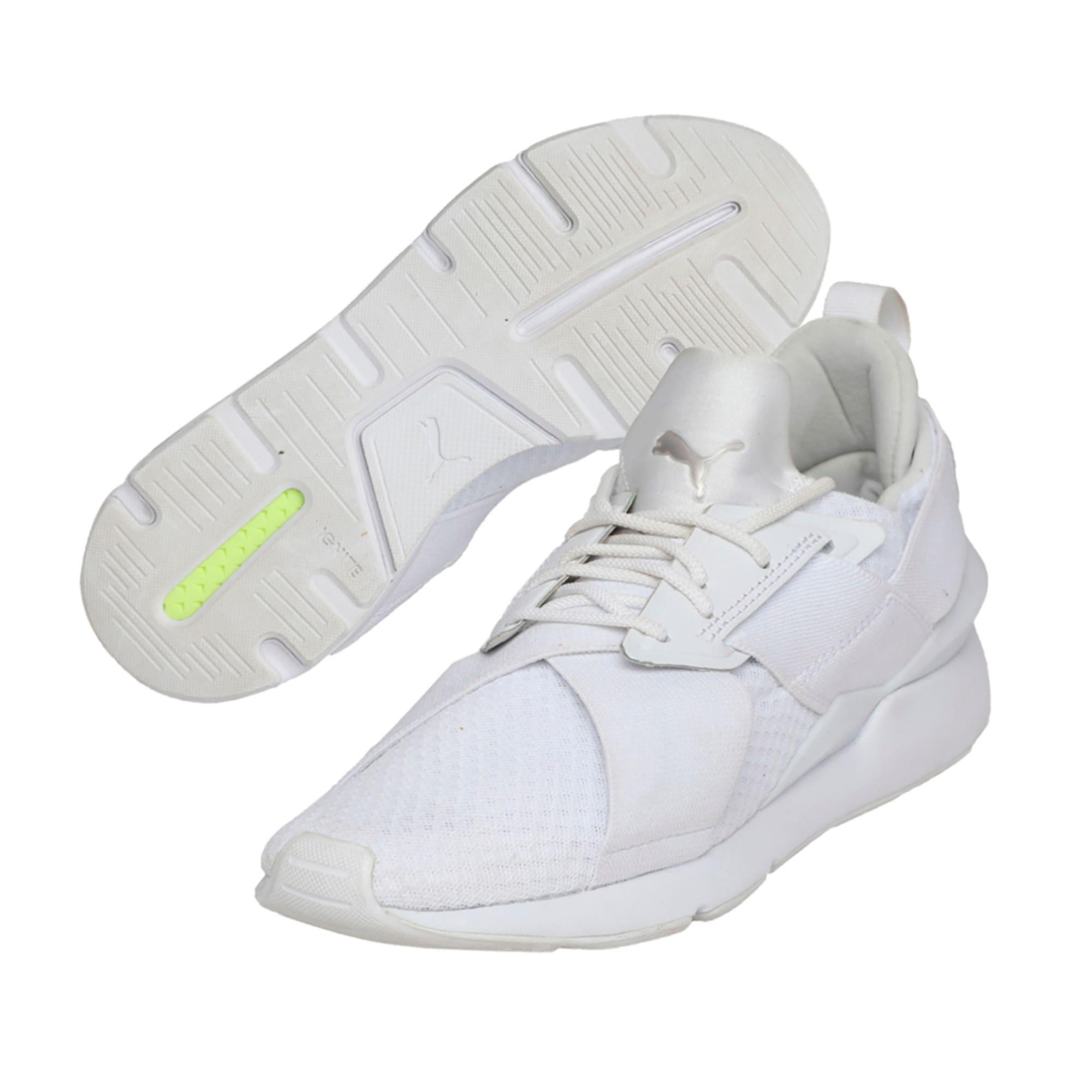 Thumbnail 6 of Muse En Pointe Women's Shoes, Puma White-Puma White, medium-IND