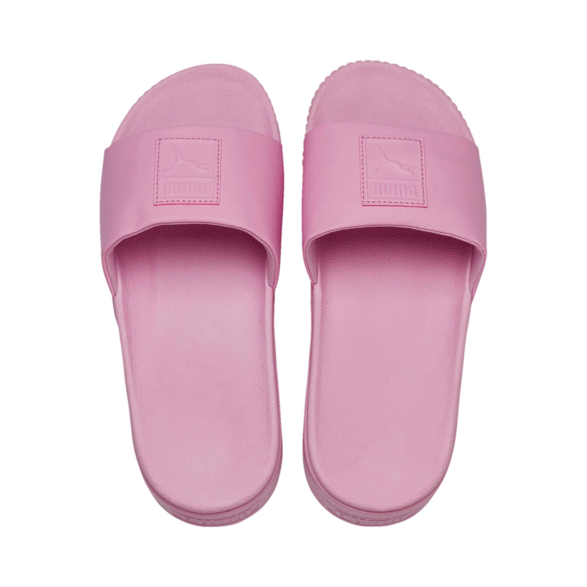 Thumbnail 6 of Platform Slide Women's Sandals, Pale Pink-Pale Pink, medium