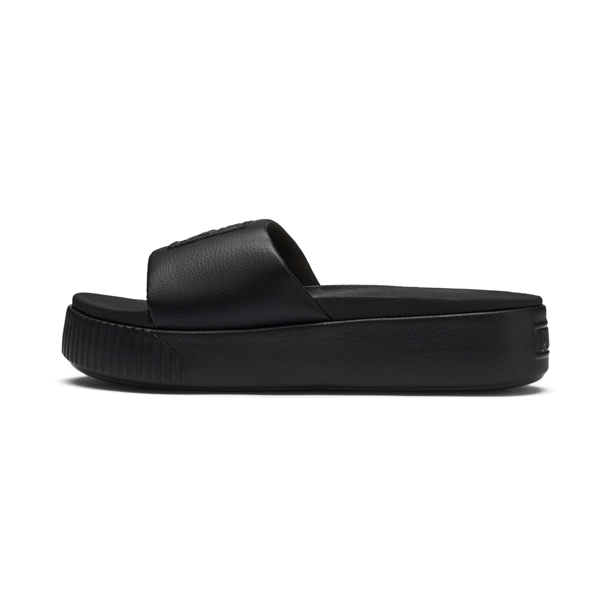 Platform Slide Women's Sandals   Puma Black-Puma Black   PUMA Slides &  Sandals   PUMA