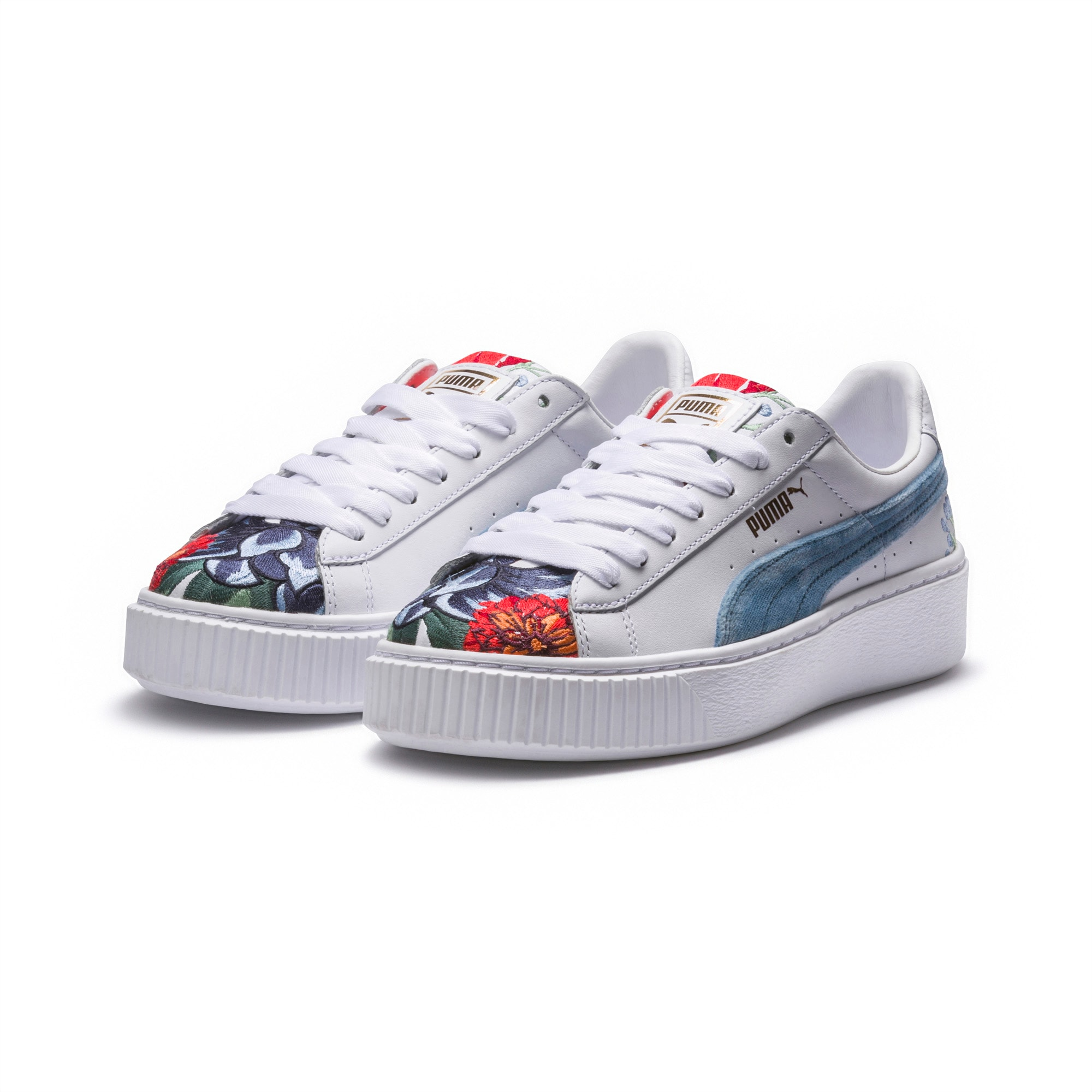 Platform Hyper Embroidered Women's Trainers