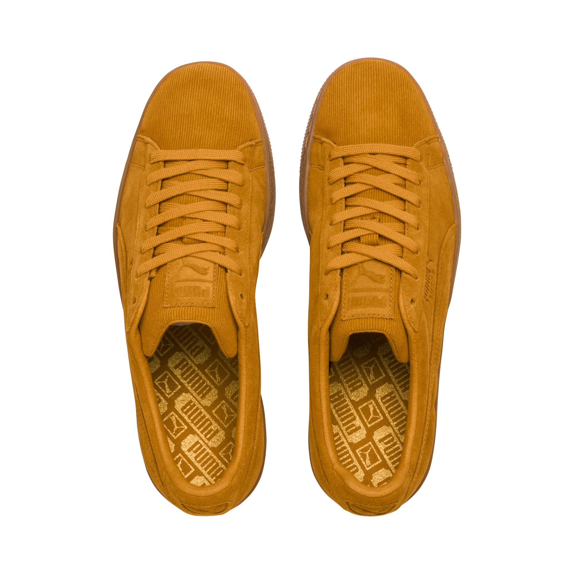 Thumbnail 6 of Suede Classic Pincord Trainers, Buckthorn Brwn-Buckthorn Brw, medium-IND