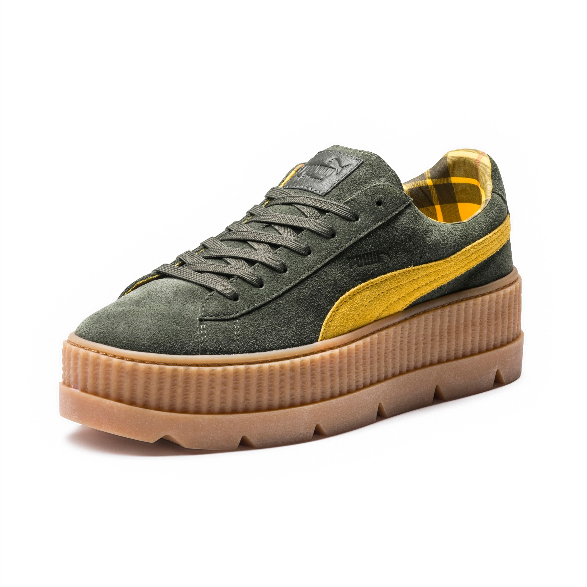 FENTY Puma x Rihanna Women's Suede Cleated Platform Sneakers