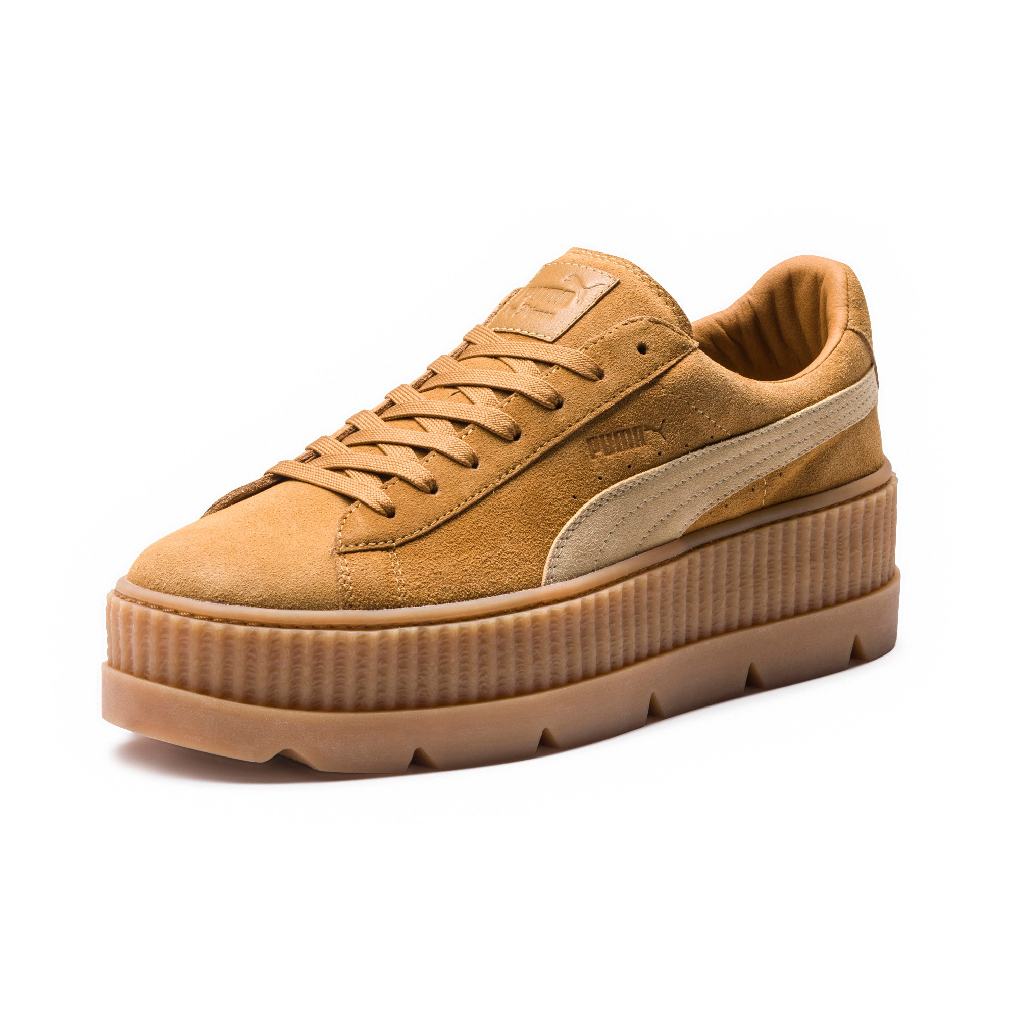 Fenty Puma cleated creeper suede sneakers