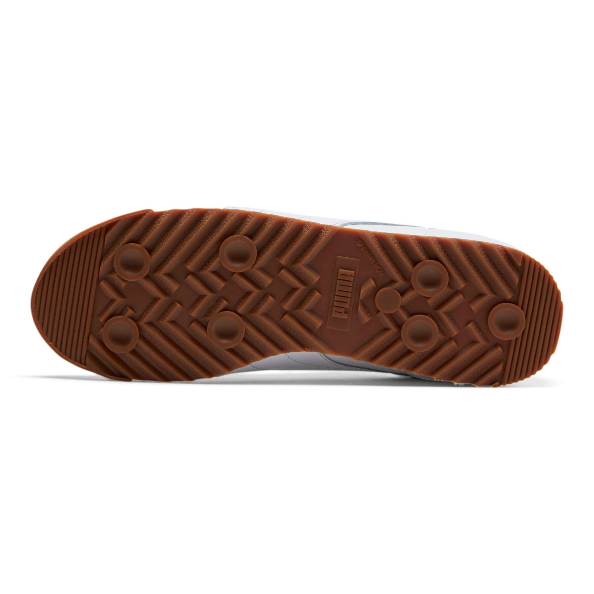 Thumbnail 4 of Roma Classic Gum Sneakers, Puma White-Puma Team Gold, medium