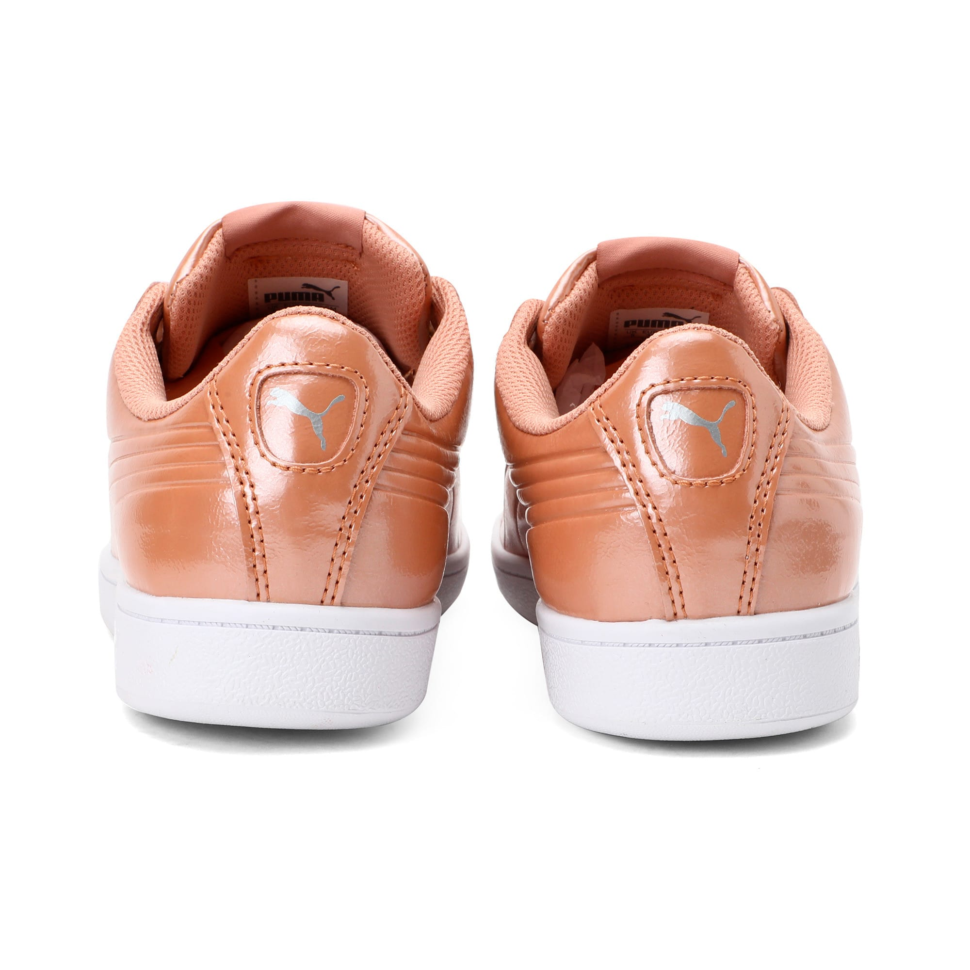 Thumbnail 3 of Vikky Ribbon Patent Women's Trainers, Dusty Coral-Dusty Coral, medium-IND
