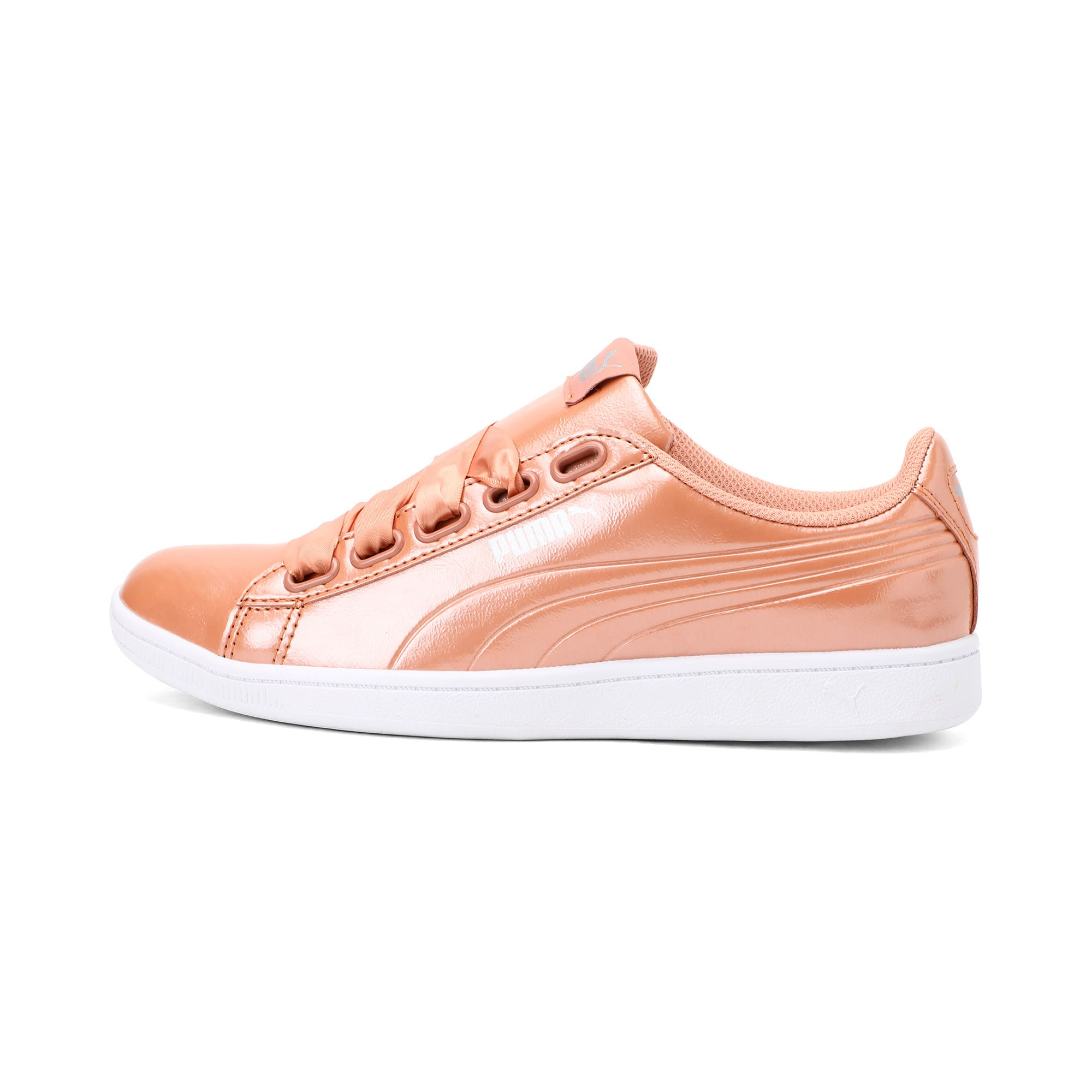 Thumbnail 1 of Vikky Ribbon Patent Women's Trainers, Dusty Coral-Dusty Coral, medium-IND