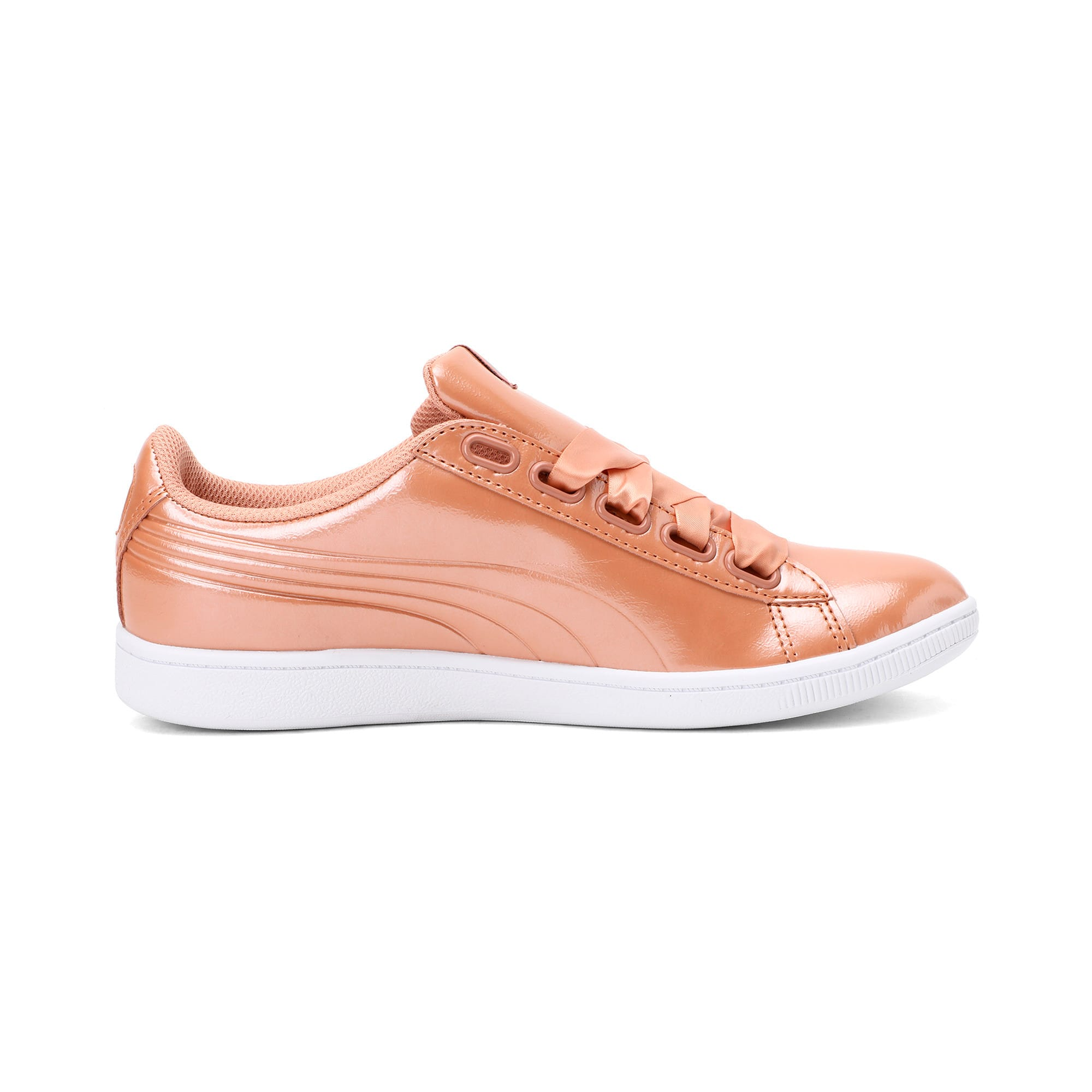 Thumbnail 5 of Vikky Ribbon Patent Women's Trainers, Dusty Coral-Dusty Coral, medium-IND
