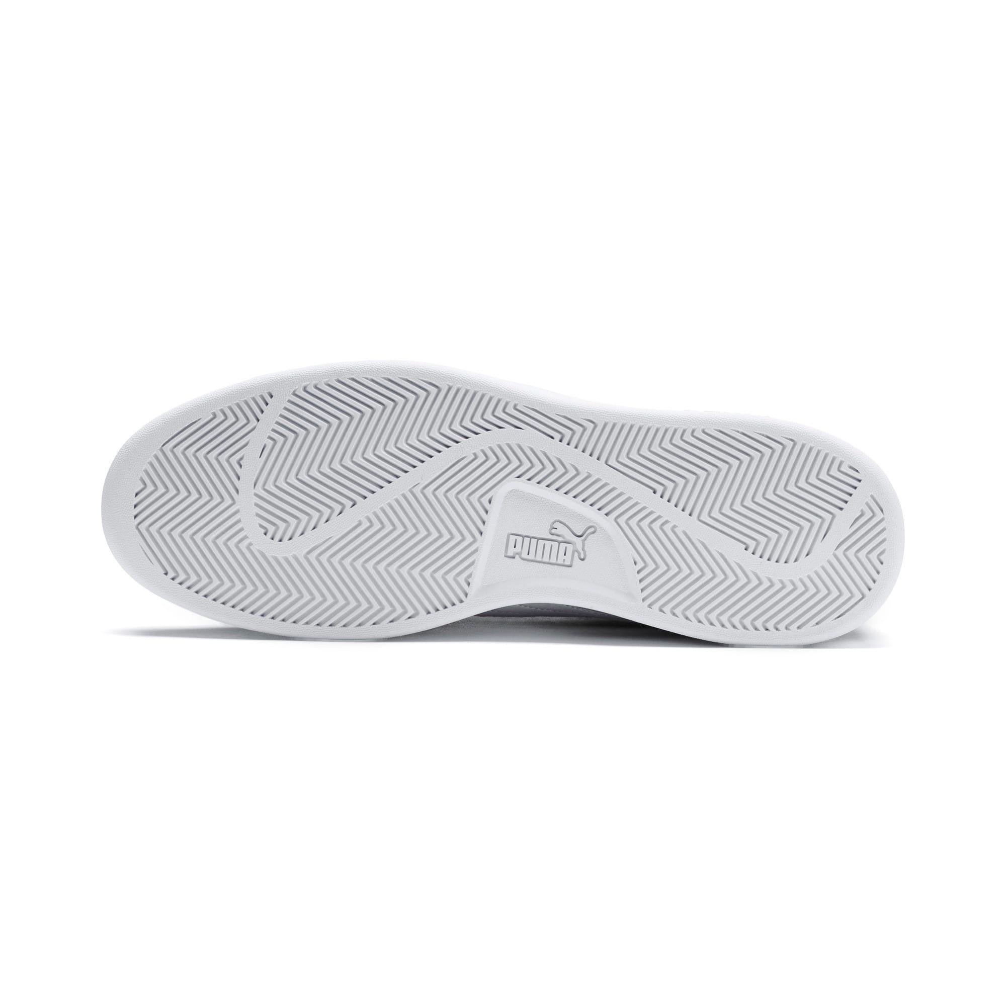 Thumbnail 4 of PUMA Smash v2 Sneakers, Charcoal Gray-Puma White, medium-IND
