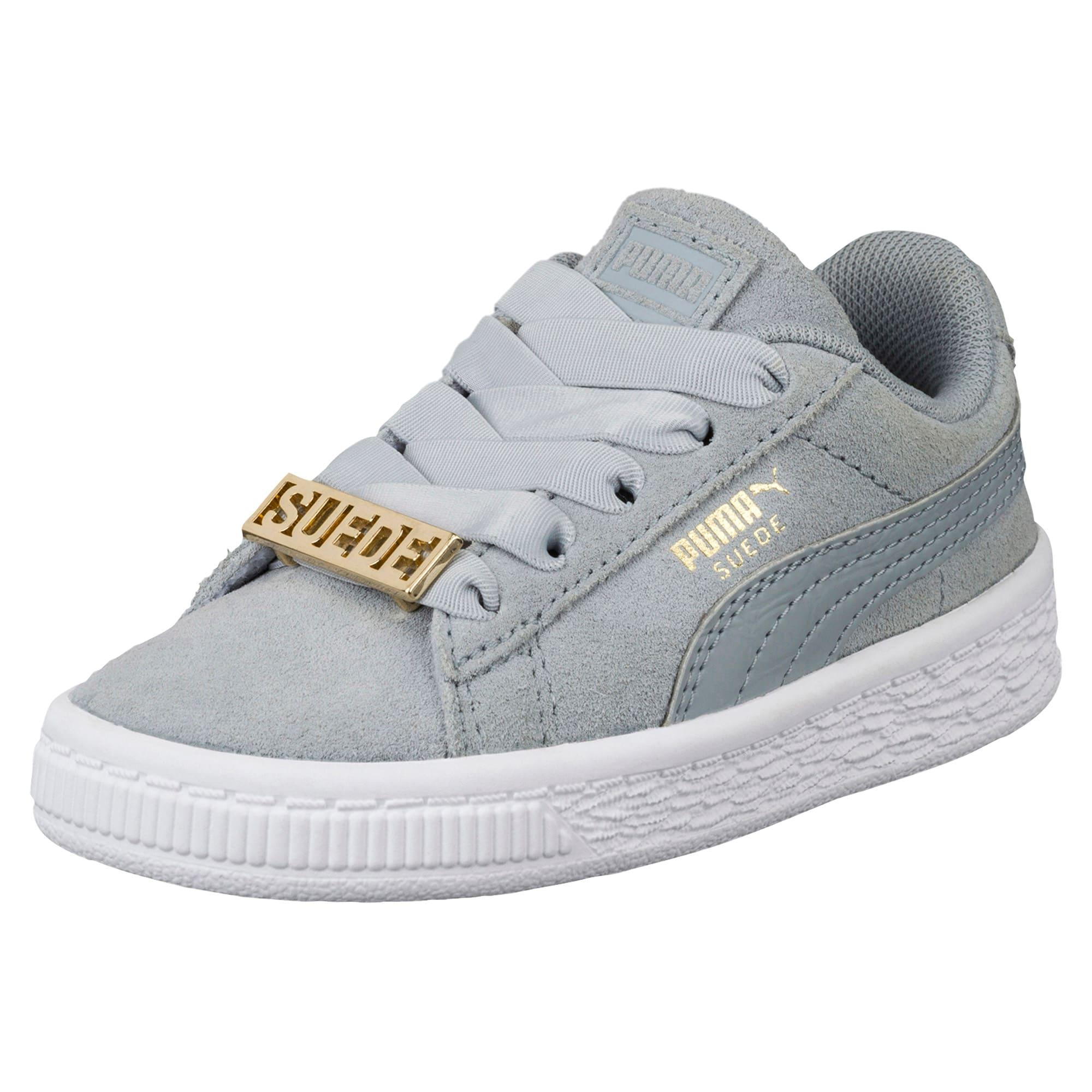 Miniatura 1 de Zapatos Suede Classic B-BOY Fabulous para bebé, Quarry-Quarry, mediano