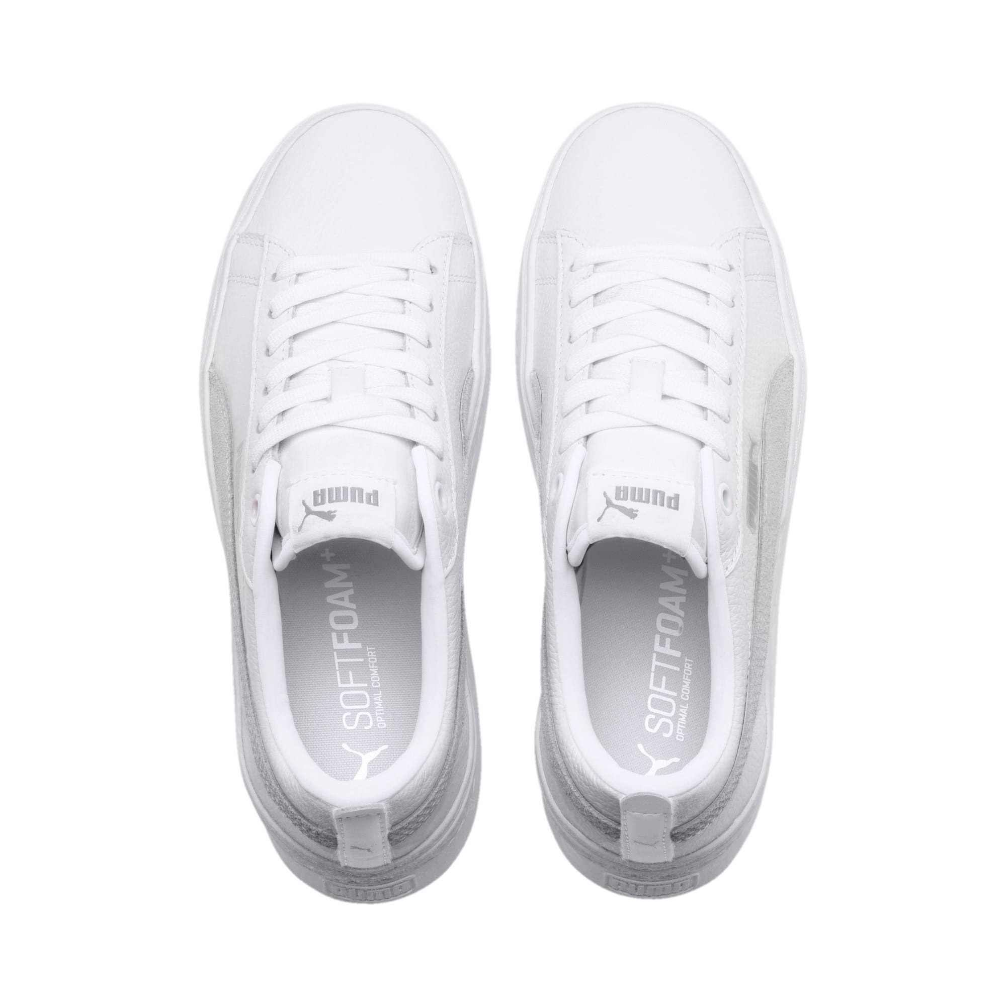 Thumbnail 6 of Puma Smash Platform L, Puma White-Puma White-White, medium