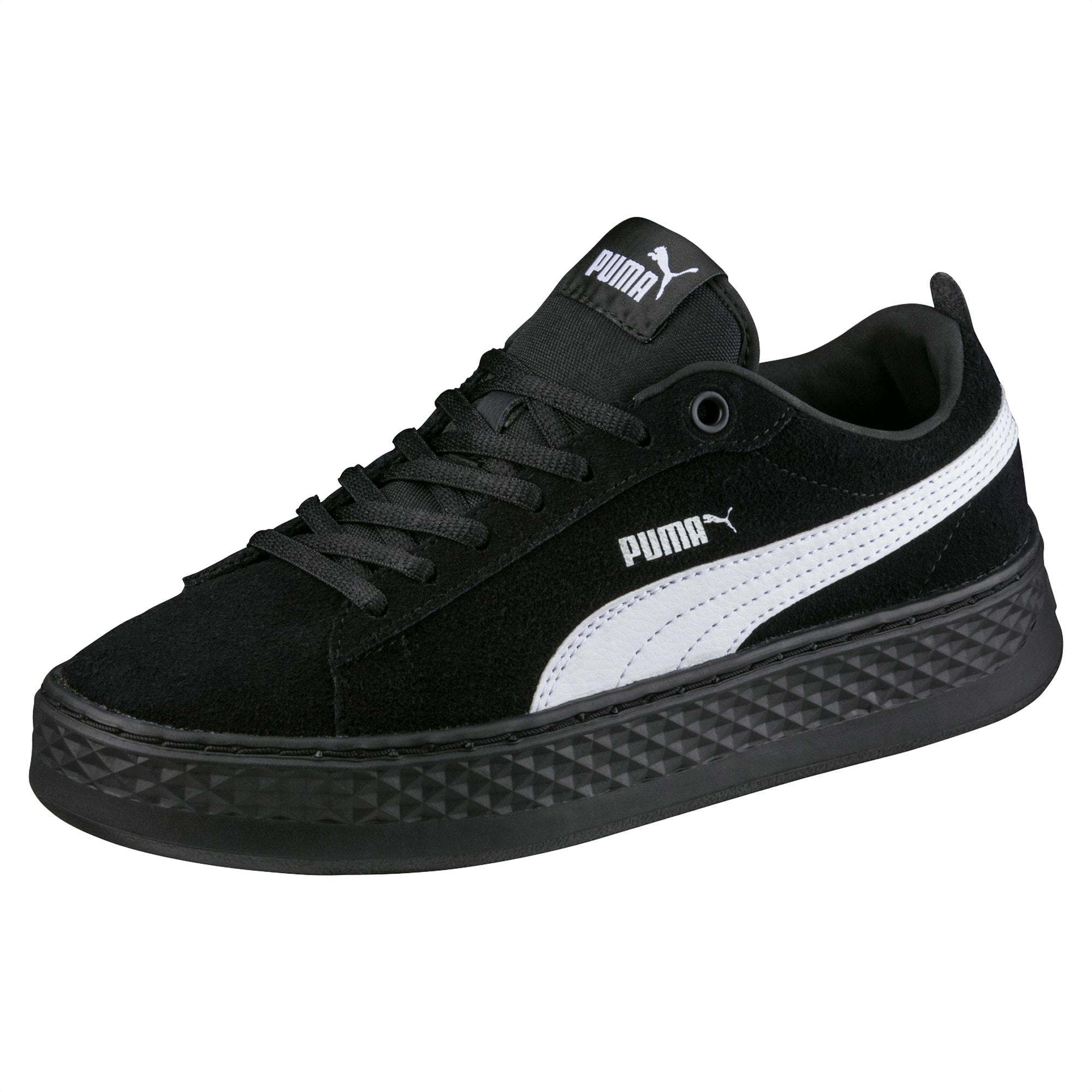 PUMA Damen Smash Platform Sd Sneaker: : Schuhe