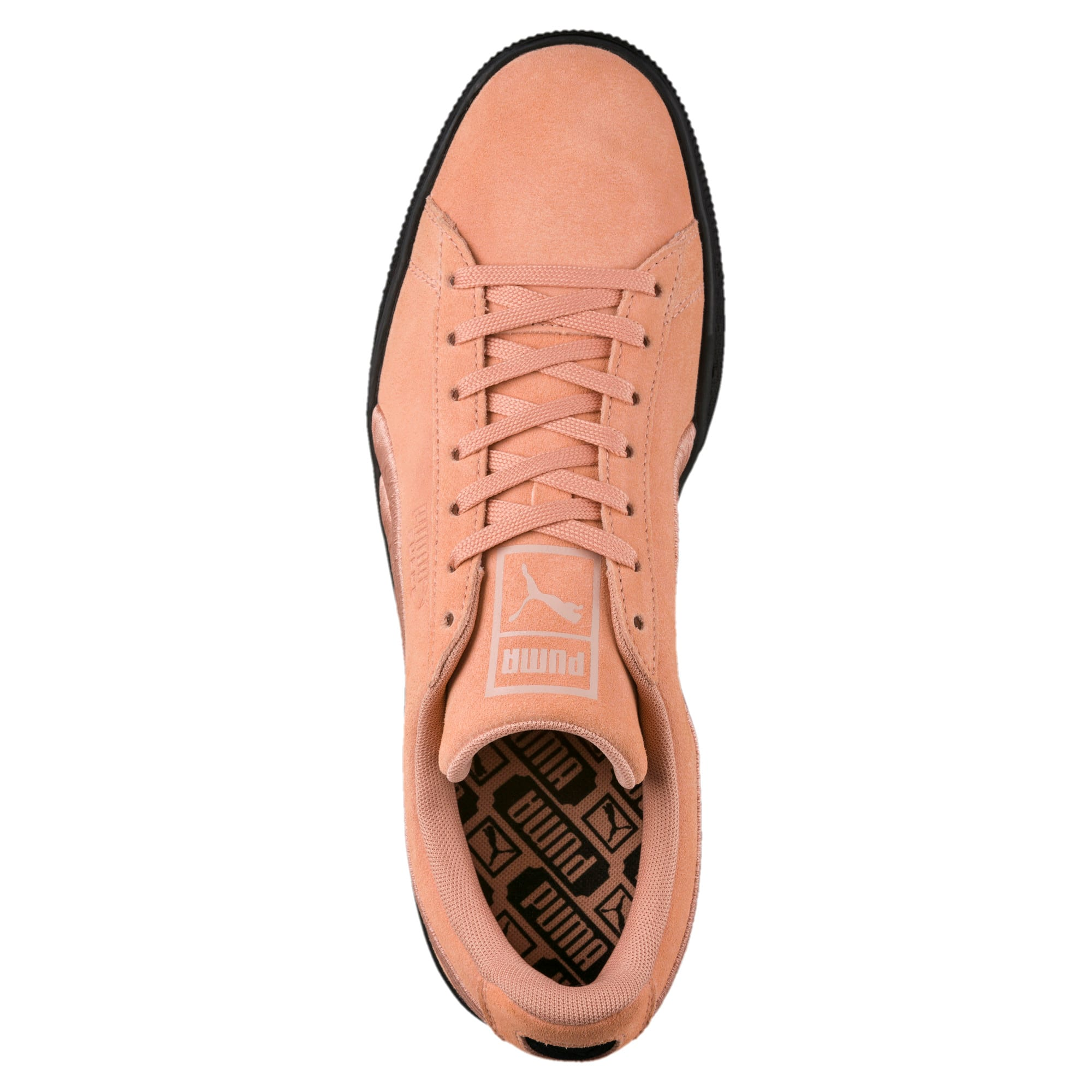 Thumbnail 5 of Suede Classic Badge Flip Sneakers, Muted Clay-Puma Black, medium