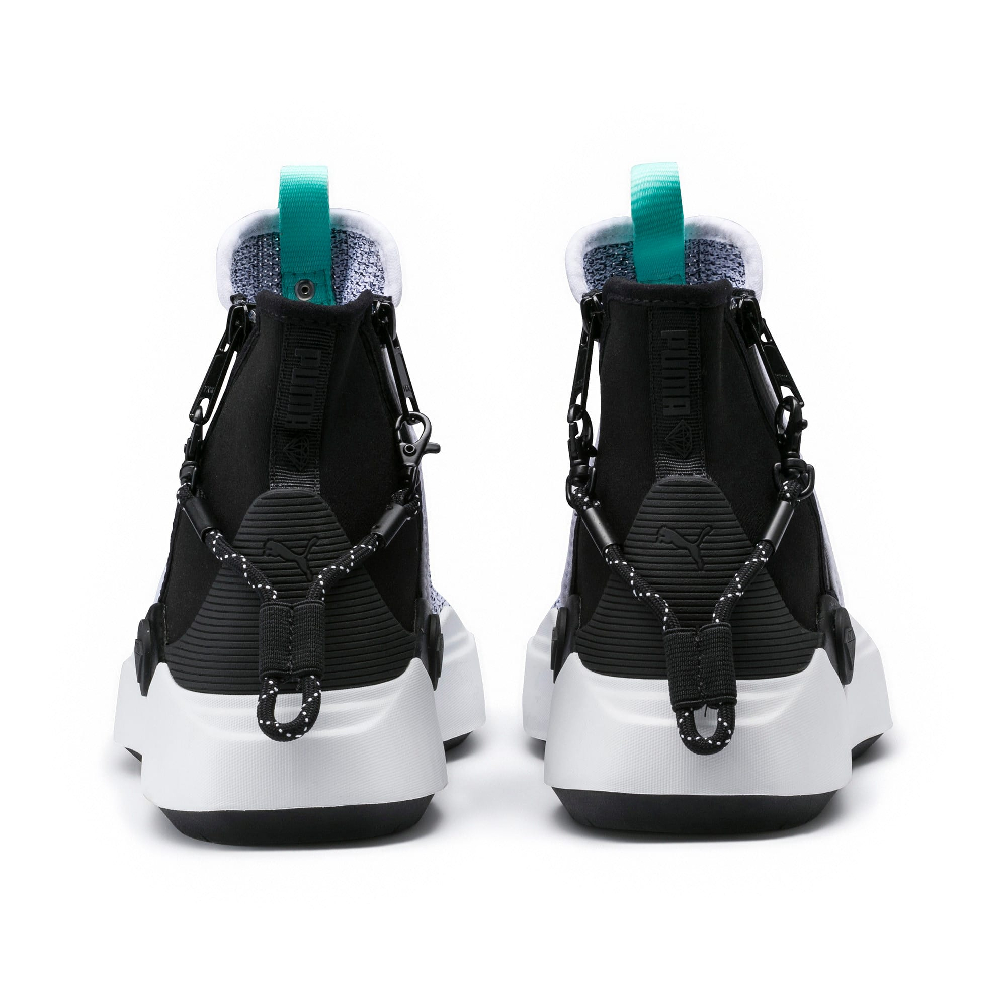 Thumbnail 4 of PUMA x DIAMOND Abyss Knit Sneakers, Puma White-Puma Black, medium