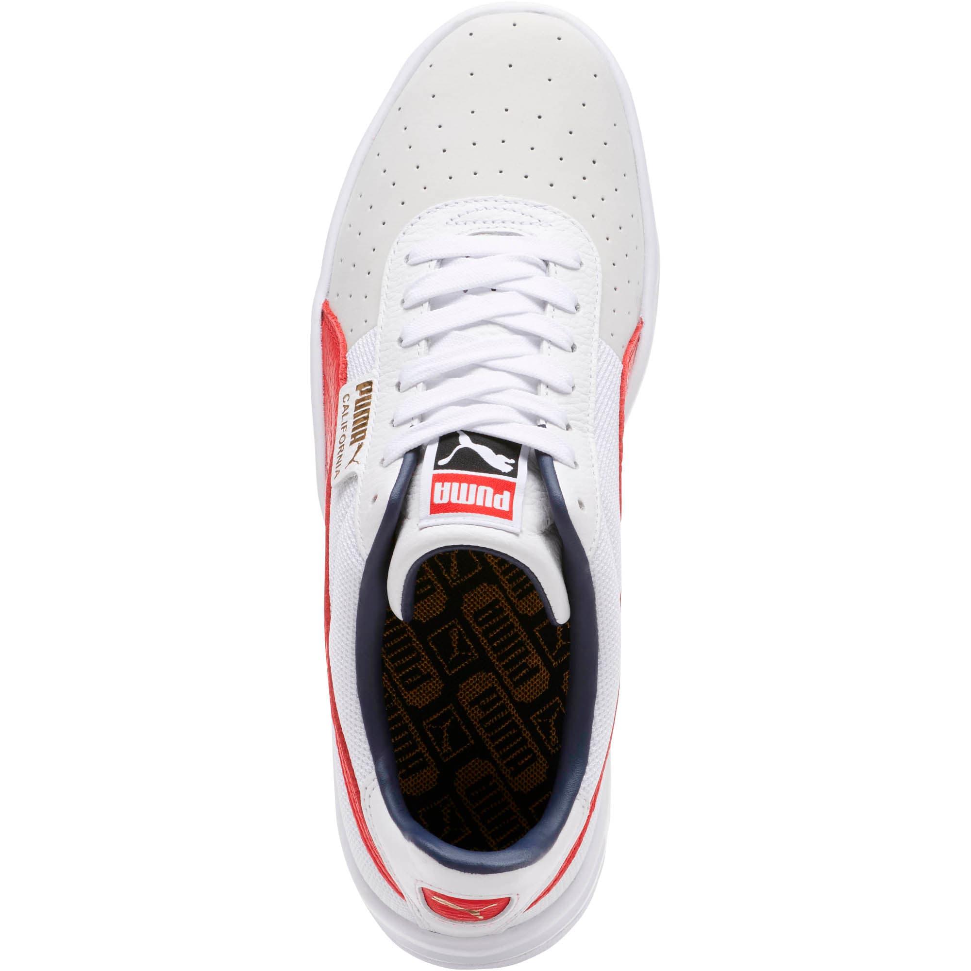 Thumbnail 5 of California Casual Sneakers, P White-RibbonRed-P White, medium