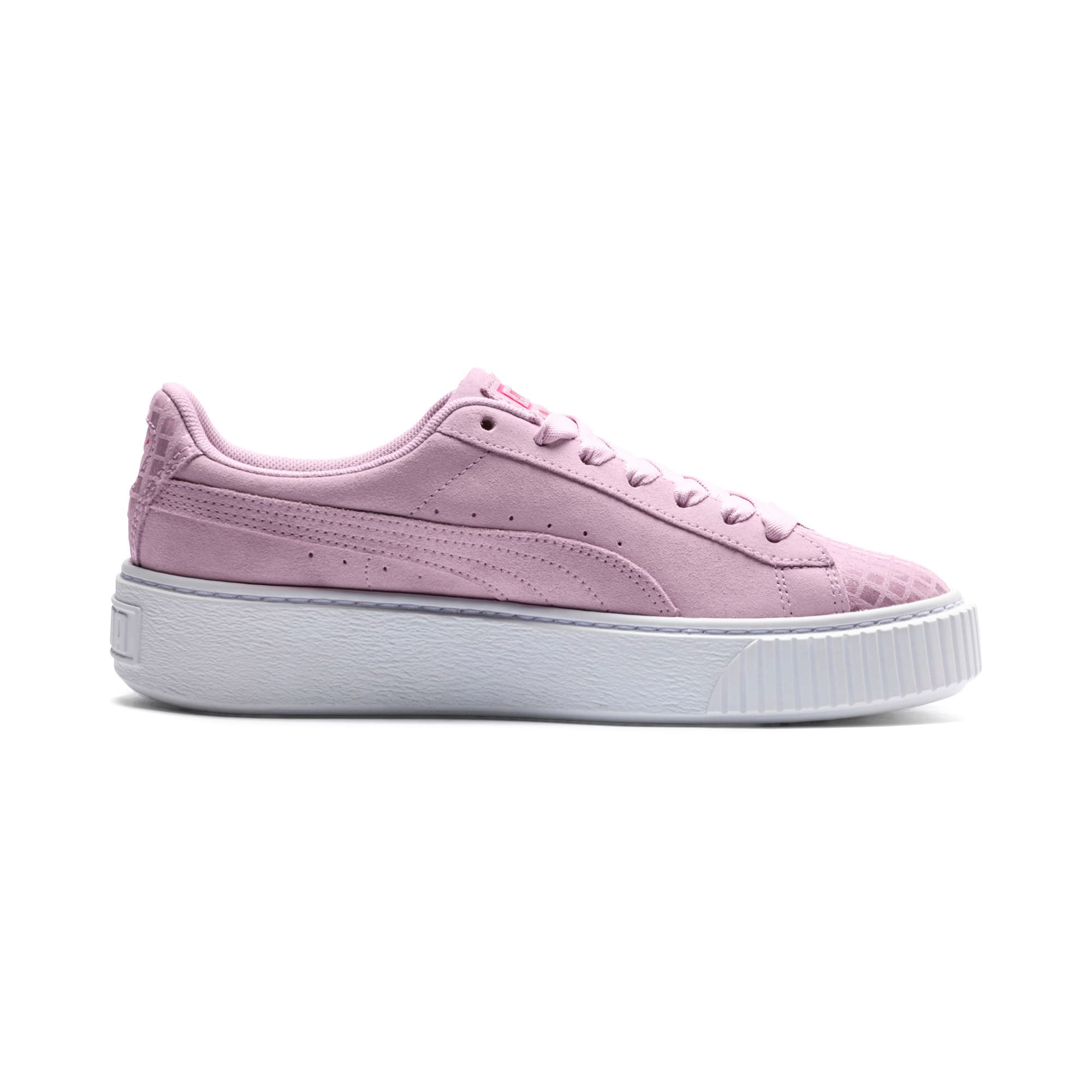 Thumbnail 5 of Suede Platform Street 2 Women's Trainers, Winsome Orchid, medium-IND
