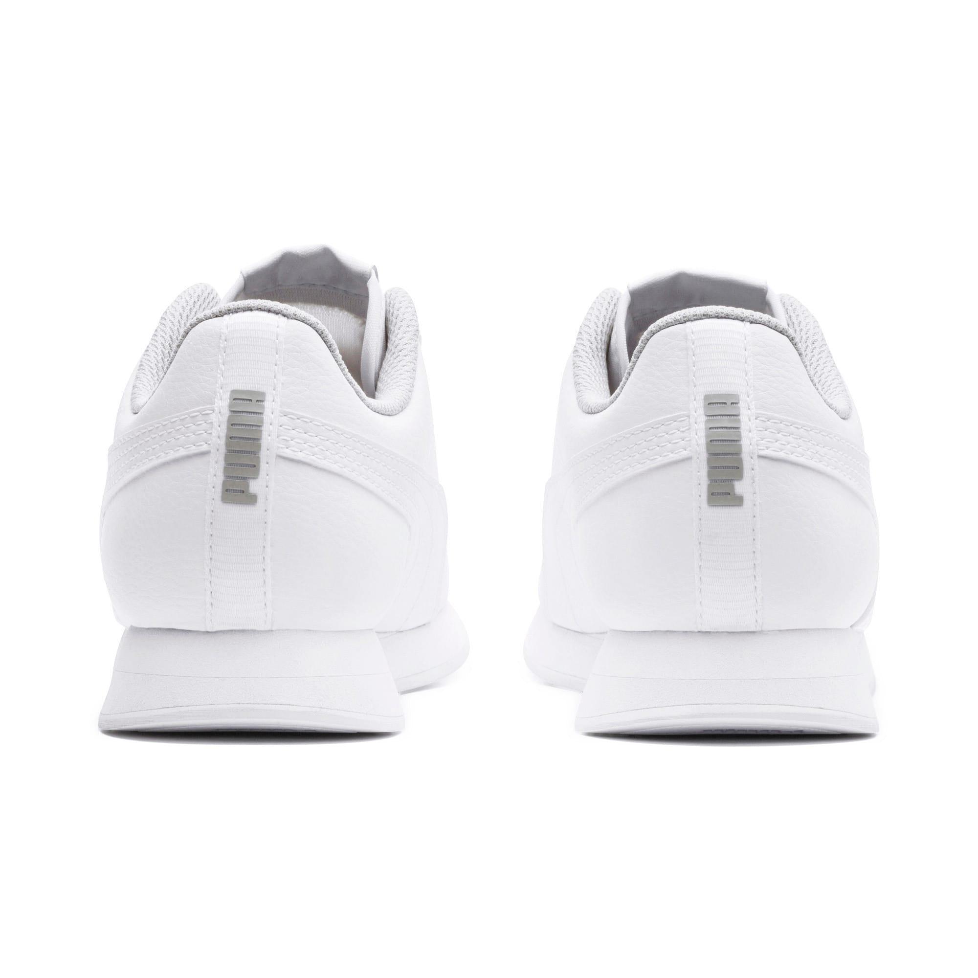 Thumbnail 4 of Turin II Sneakers JR, Puma White-Puma White, medium