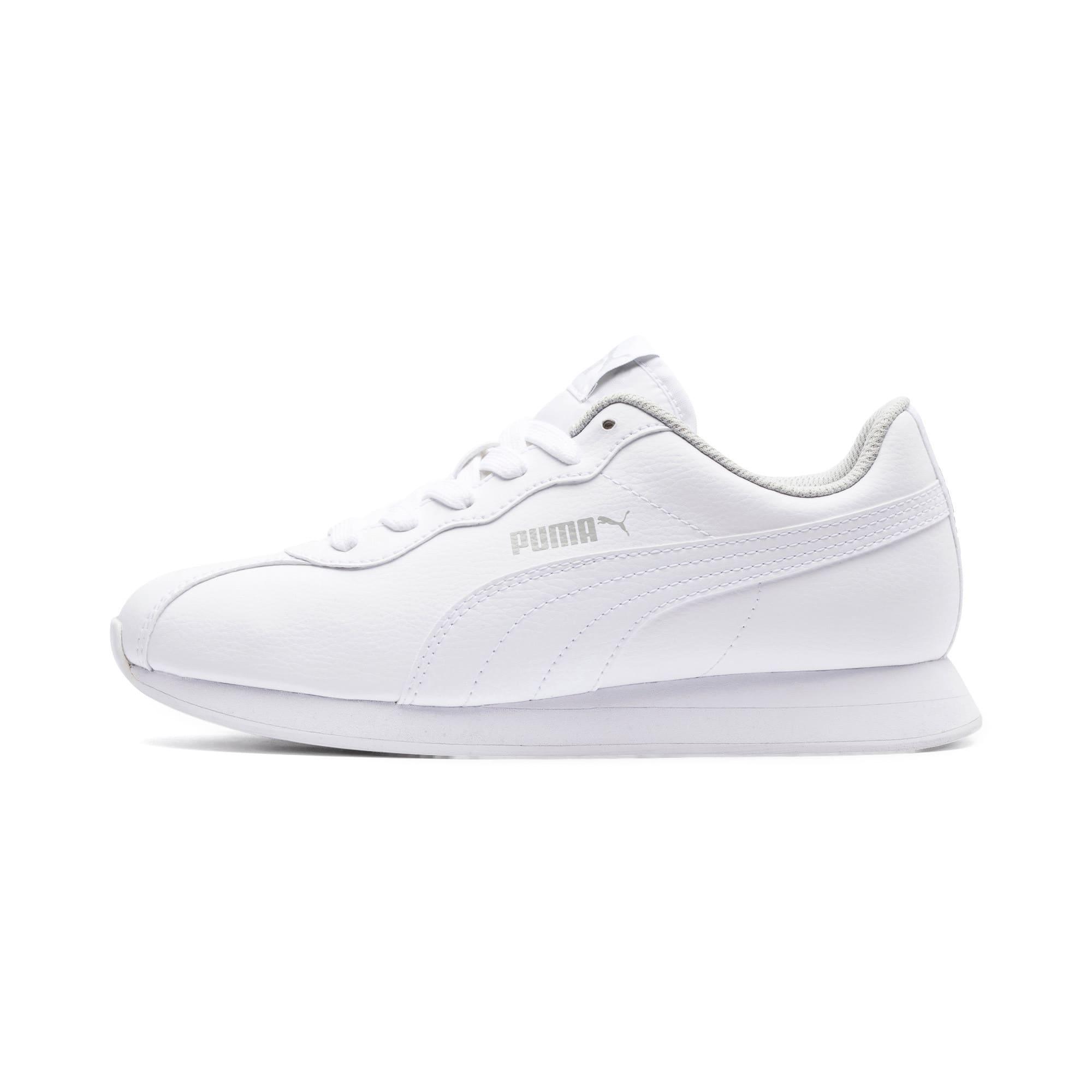 Thumbnail 1 of Turin II Sneakers JR, Puma White-Puma White, medium