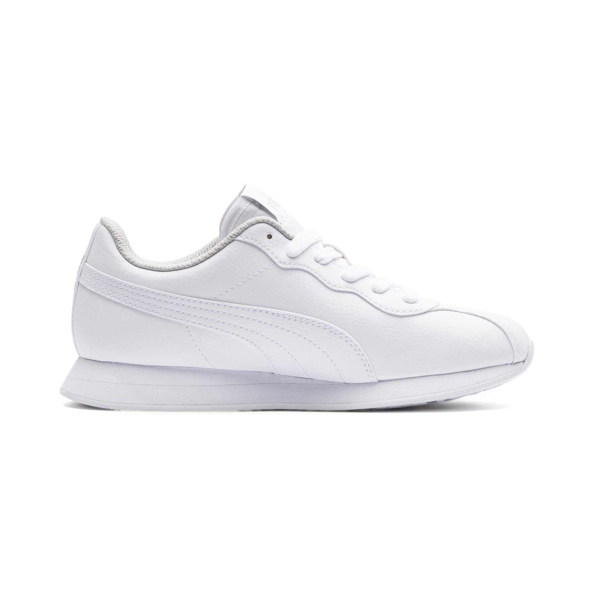 Thumbnail 5 of Turin II Sneakers JR, Puma White-Puma White, medium