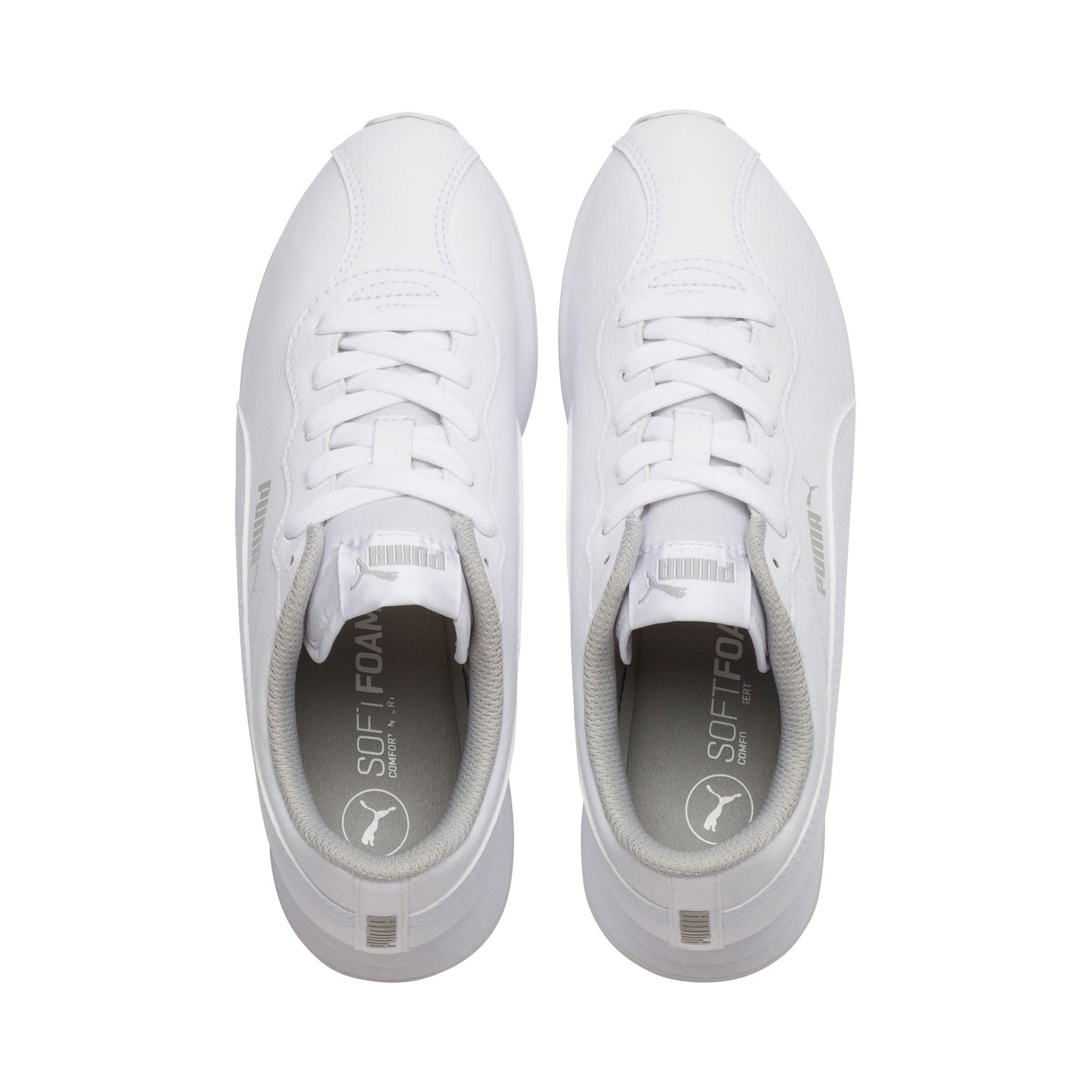 Thumbnail 6 of Turin II Sneakers JR, Puma White-Puma White, medium