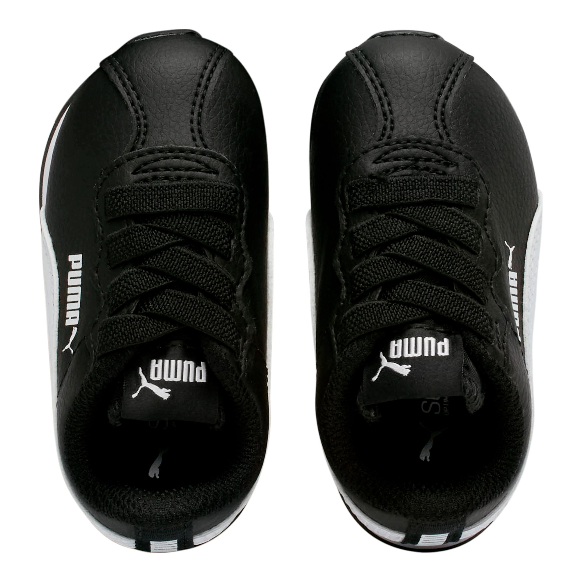 Thumbnail 6 of Turin II AC Toddler Shoes, Puma Black-Puma White, medium