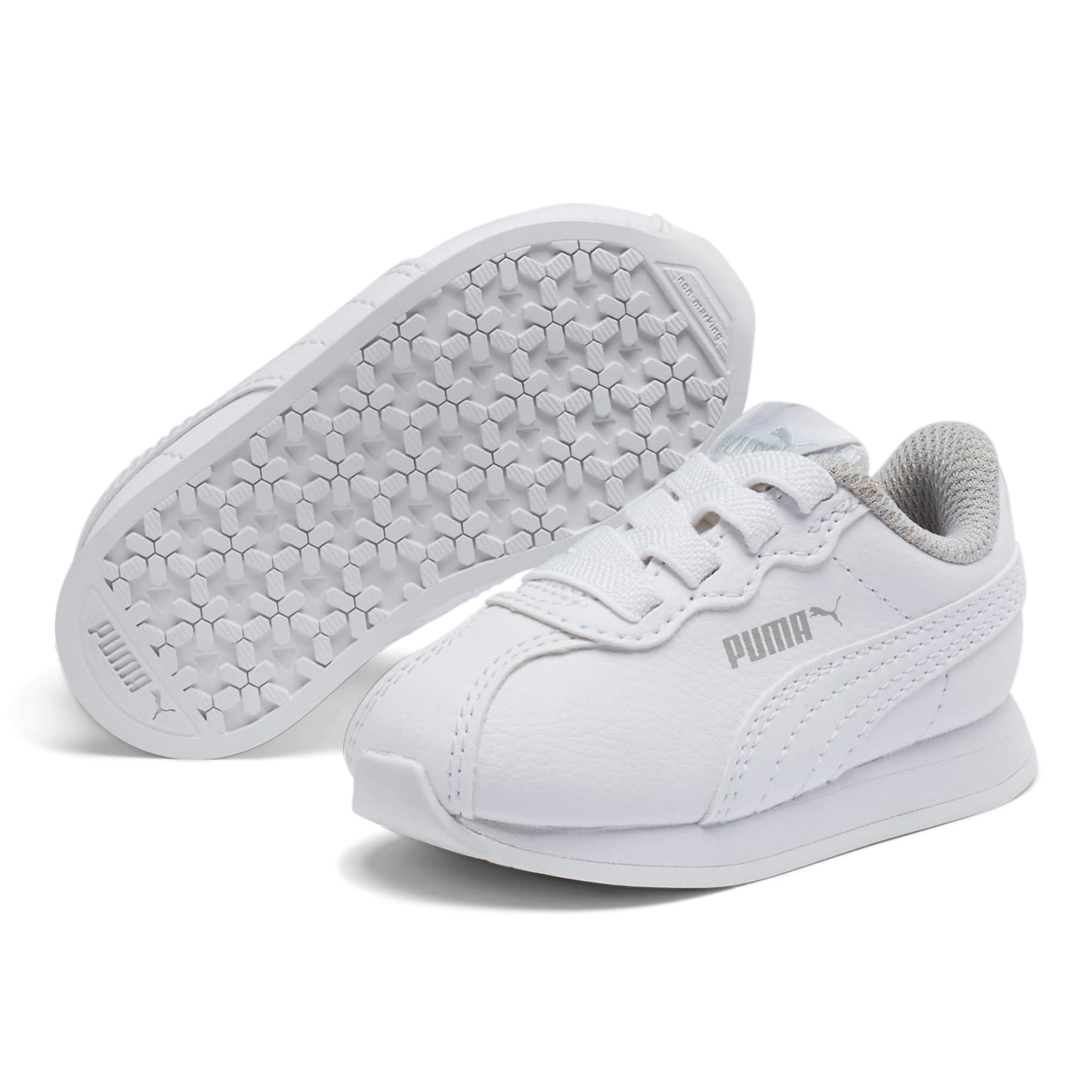 Thumbnail 2 of Turin II AC Toddler Shoes, Puma White-Puma White, medium