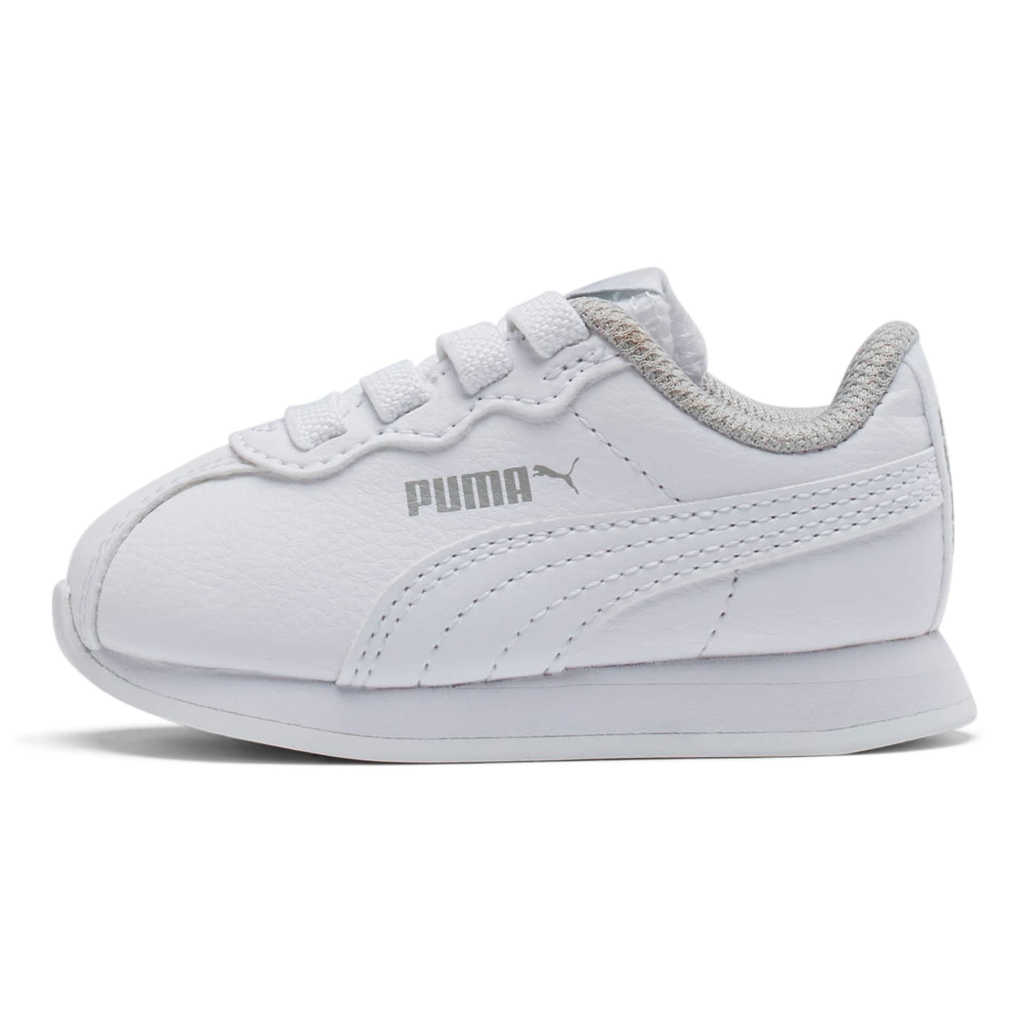Thumbnail 1 of Turin II AC Toddler Shoes, Puma White-Puma White, medium