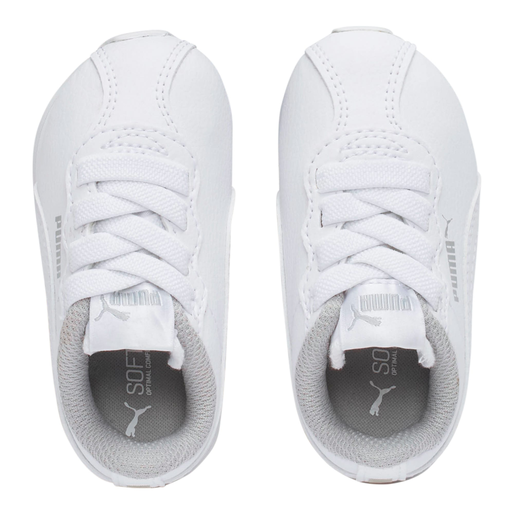 Thumbnail 6 of Turin II AC Toddler Shoes, Puma White-Puma White, medium