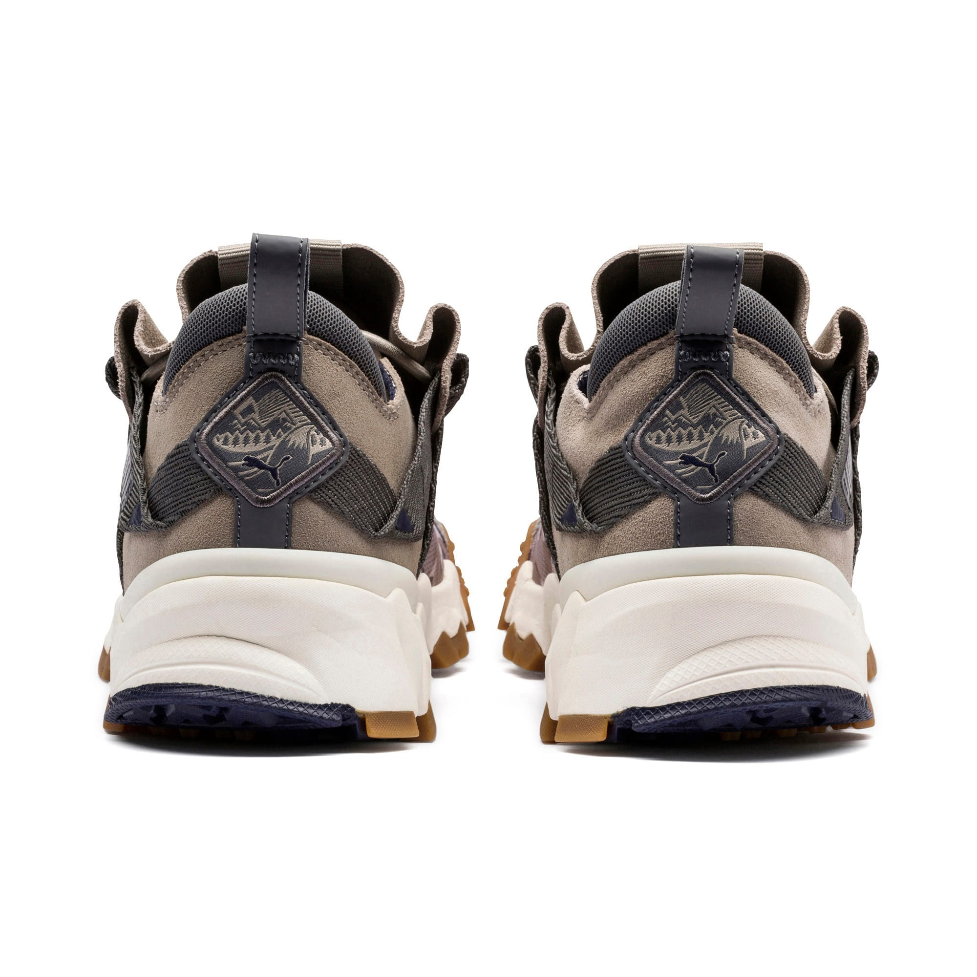 Thumbnail 3 of Trailfox Camo Trainers, Elephant Skin-Whisper White, medium-IND