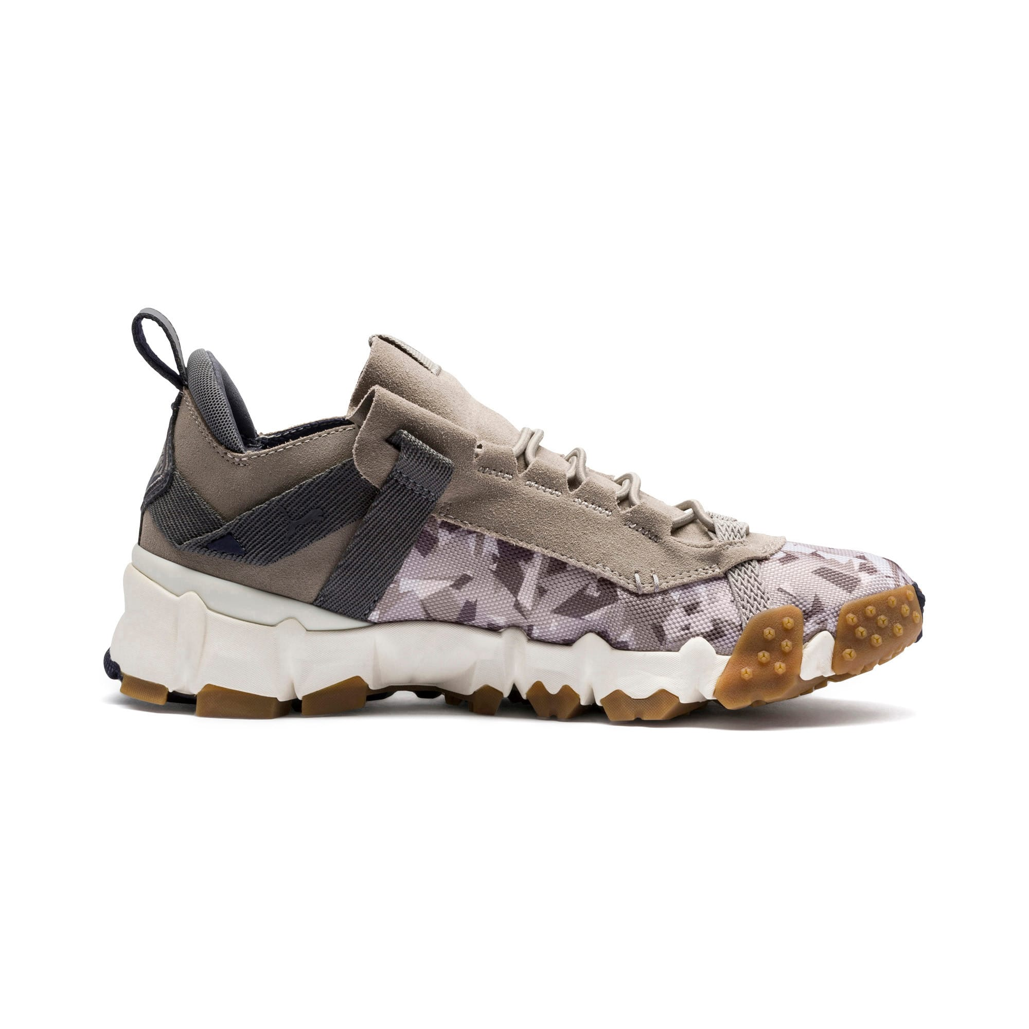 Thumbnail 5 of Trailfox Camo Trainers, Elephant Skin-Whisper White, medium-IND