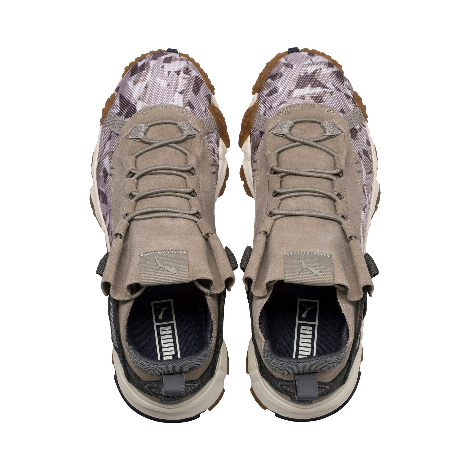 Thumbnail 6 of Trailfox Camo Trainers, Elephant Skin-Whisper White, medium-IND