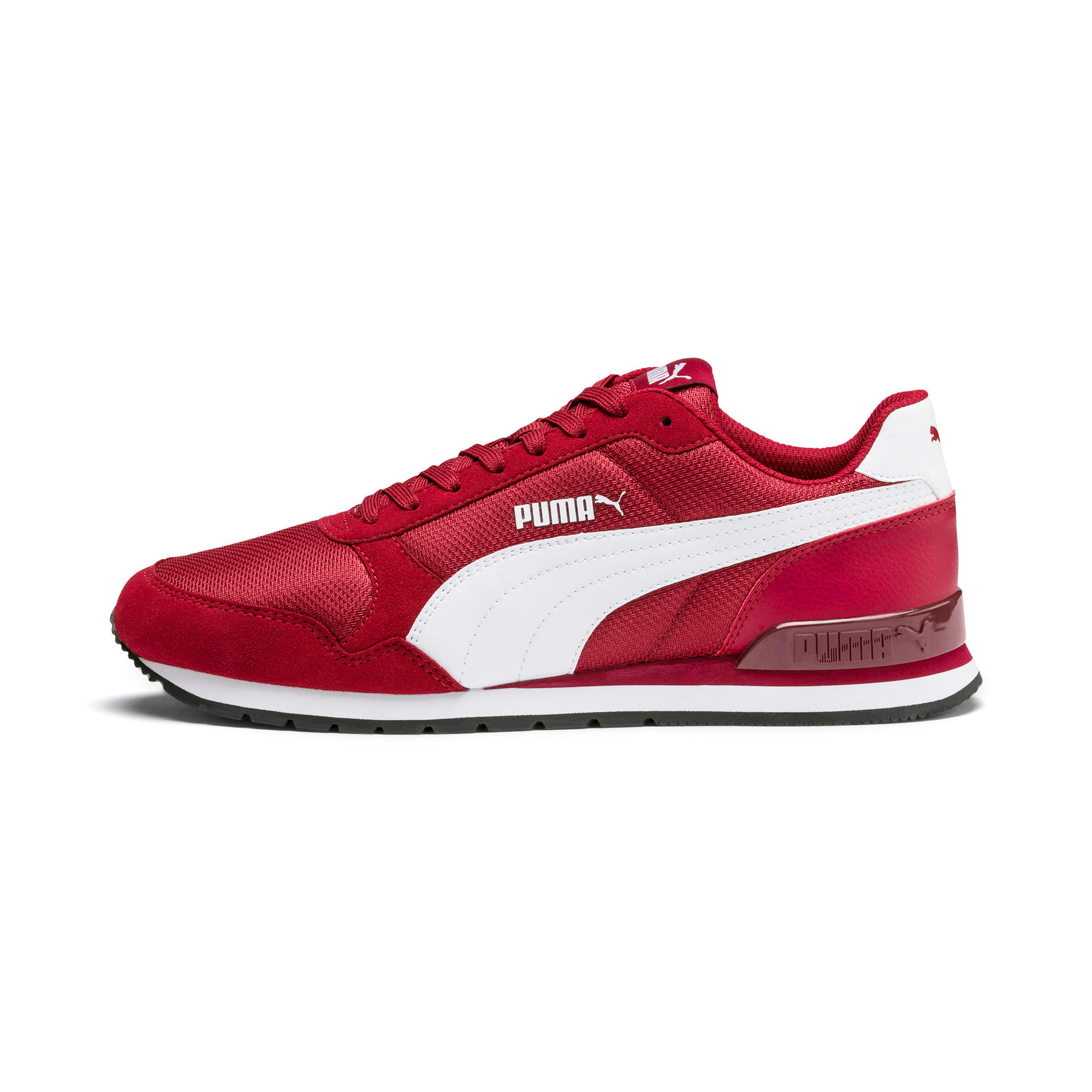 Thumbnail 1 of ST Runner v2 Mesh Sneakers, Rhubarb-Puma White, medium