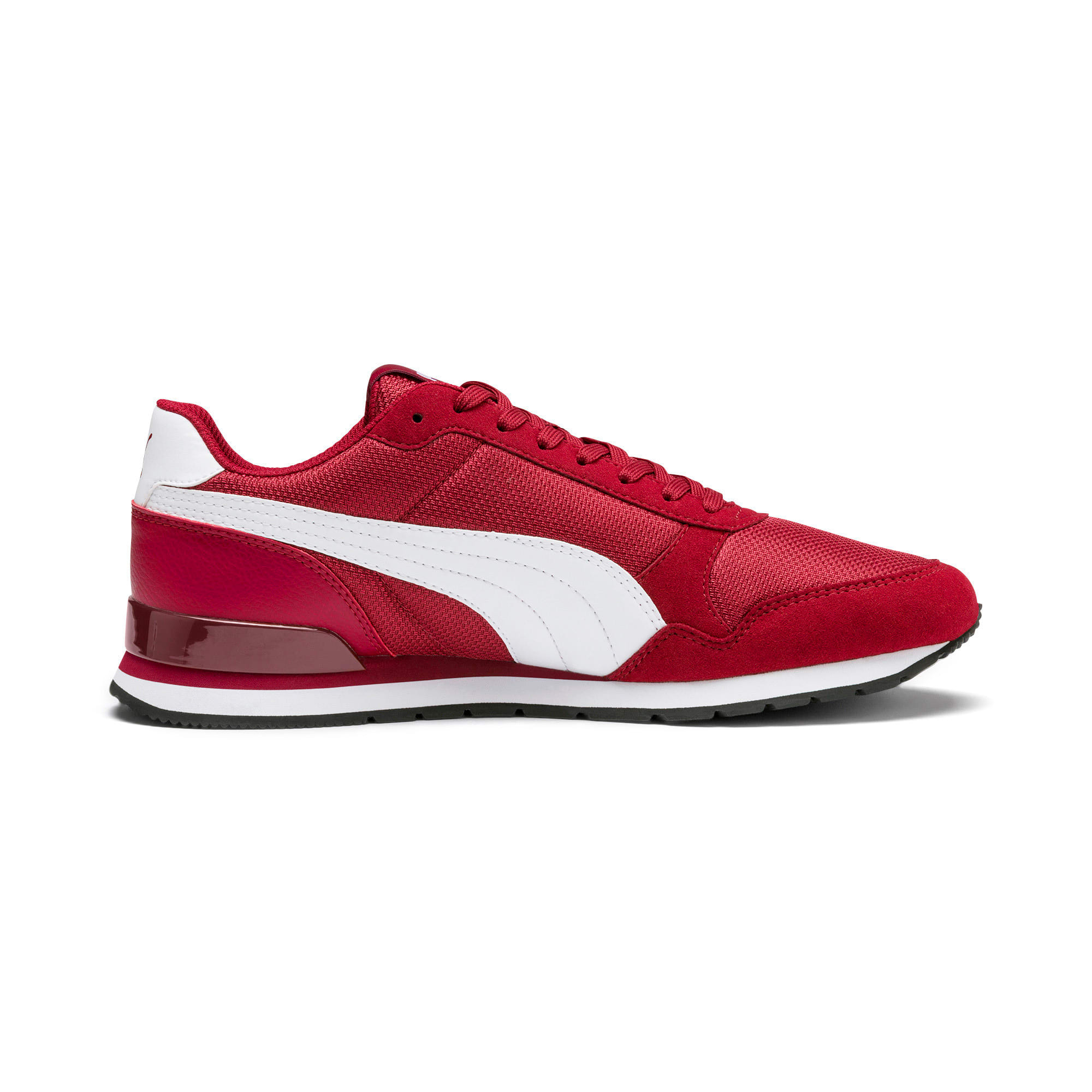 Thumbnail 6 of ST Runner v2 Mesh Sneakers, Rhubarb-Puma White, medium