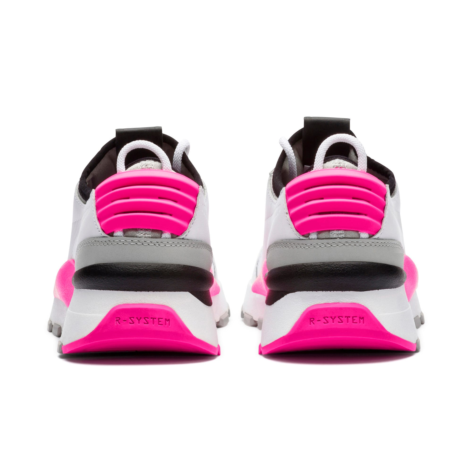 Thumbnail 4 of Evolution RS-0 SOUND Trainers, Wht-GrayViolet-KNOCKOUTPINK, medium-IND