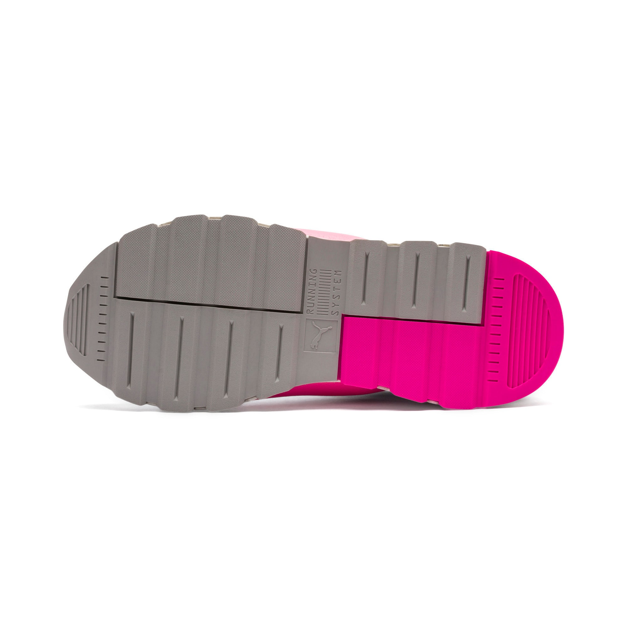 Thumbnail 5 of Evolution RS-0 SOUND Trainers, Wht-GrayViolet-KNOCKOUTPINK, medium-IND